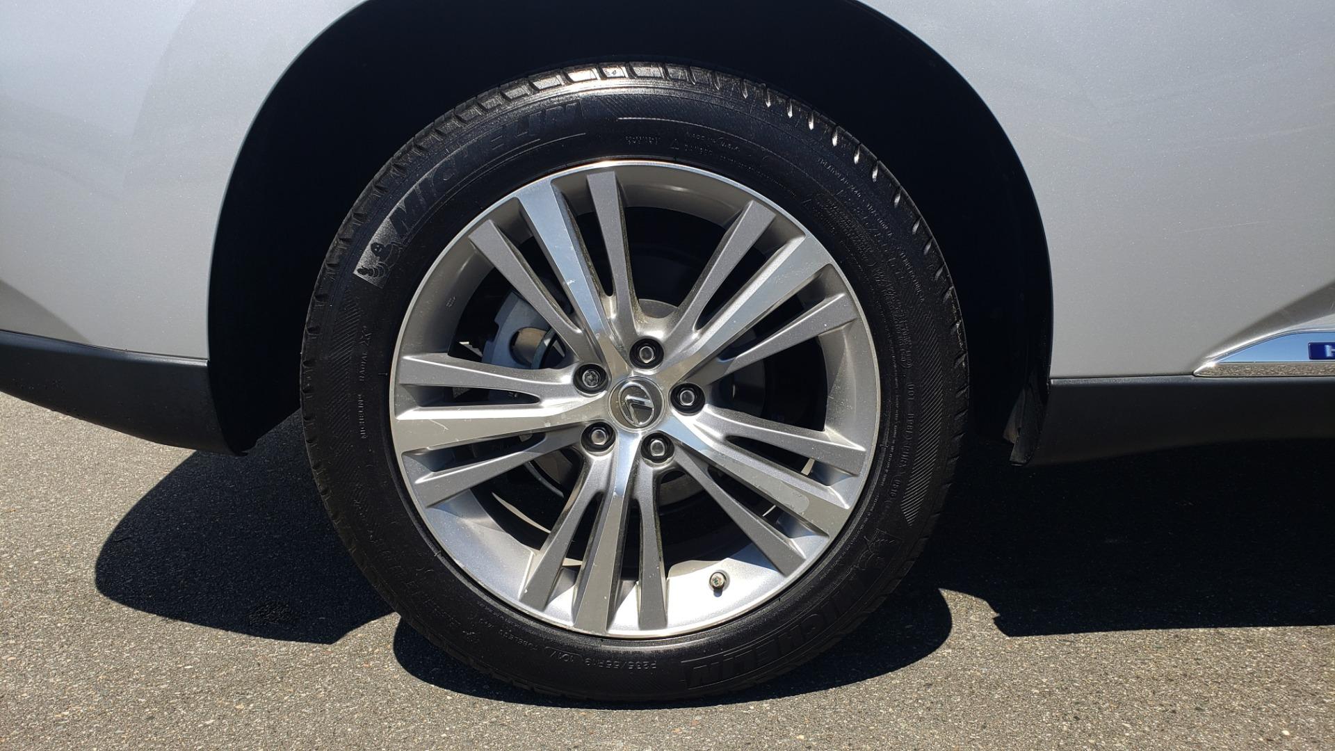 Used 2015 Lexus RX 450H AWD / PREM PKG / NAV / PARK ASST / HUD / BLIND SPOT MONITOR for sale Sold at Formula Imports in Charlotte NC 28227 85