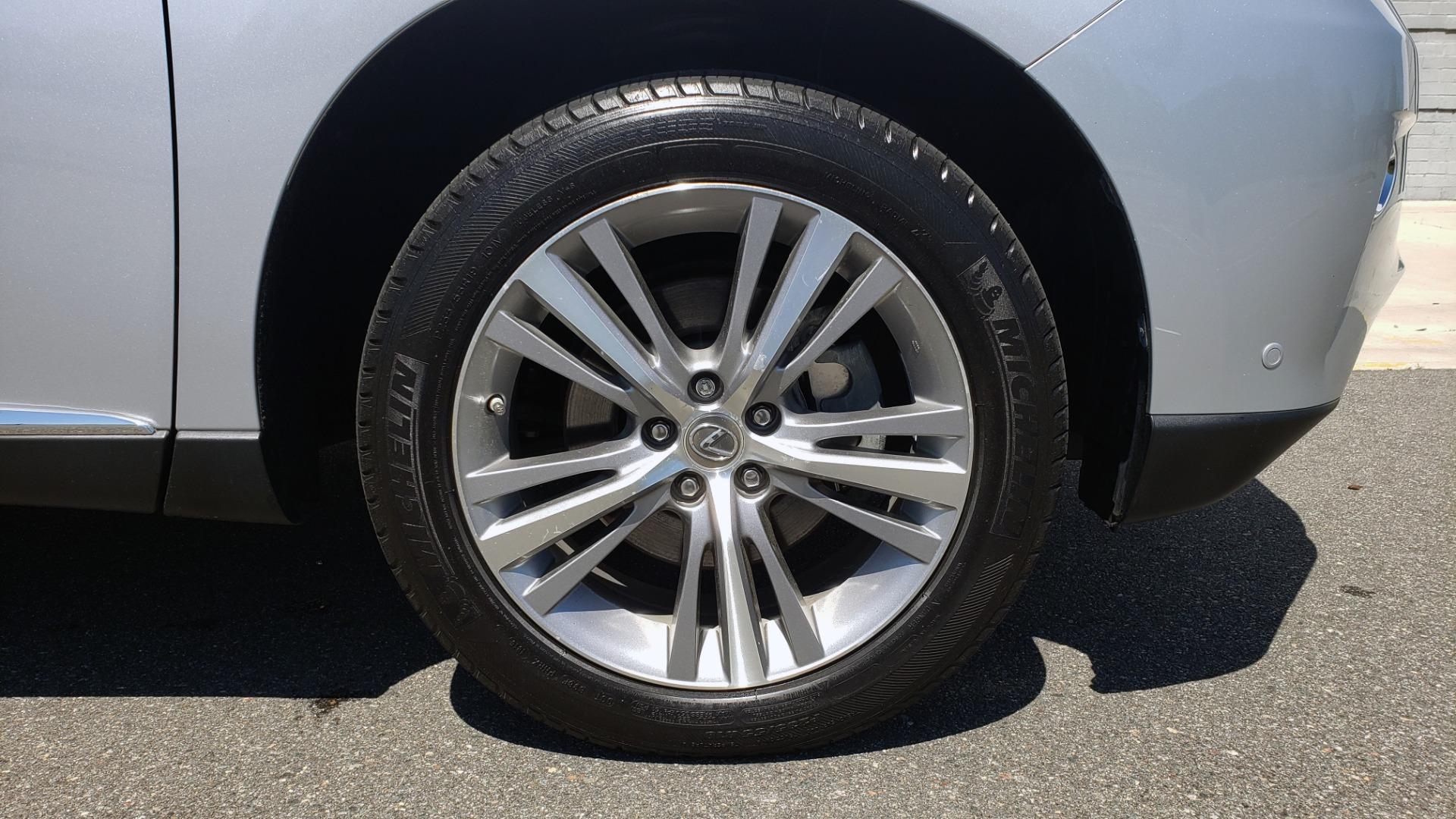 Used 2015 Lexus RX 450H AWD / PREM PKG / NAV / PARK ASST / HUD / BLIND SPOT MONITOR for sale Sold at Formula Imports in Charlotte NC 28227 86