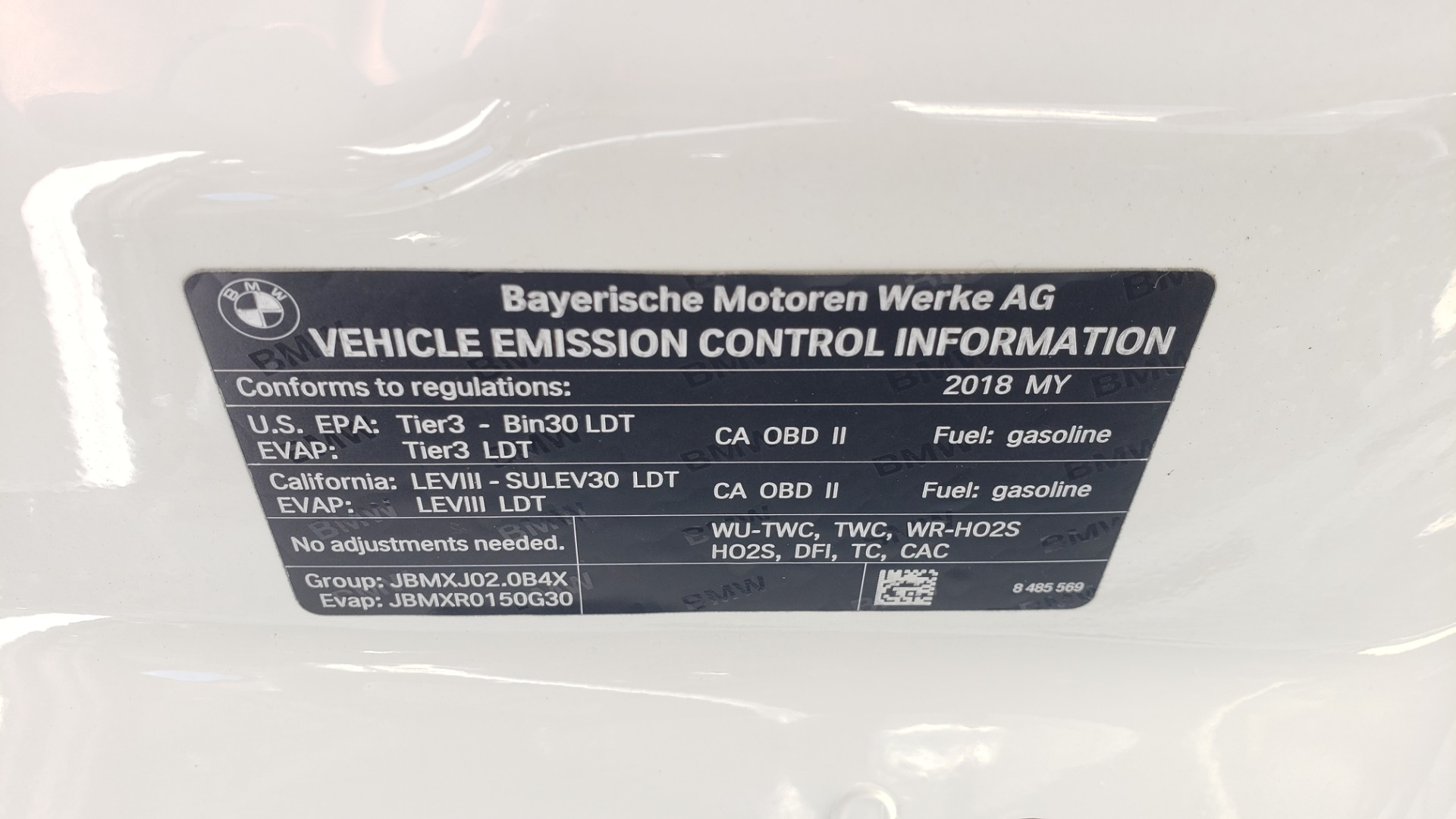 Used 2018 BMW X3 XDRIVE30I / CONV PKG / PANO-ROOF / HTD STS / REARVIEW for sale $33,995 at Formula Imports in Charlotte NC 28227 14