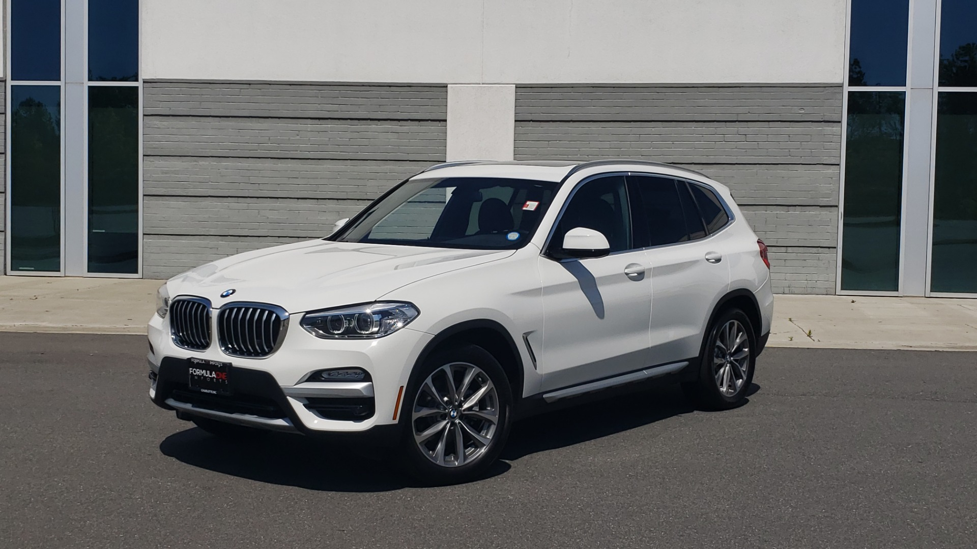 Used 2018 BMW X3 XDRIVE30I / CONV PKG / PANO-ROOF / HTD STS / REARVIEW for sale $33,995 at Formula Imports in Charlotte NC 28227 1