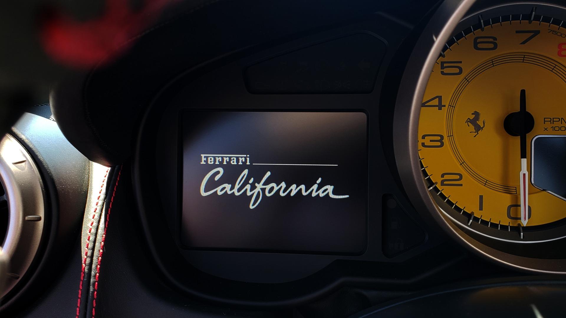 Used 2014 Ferrari CALIFORNIA CONVERTIBLE 2+2 / NAV / PARK SENS / CAMERA / TPMS for sale Sold at Formula Imports in Charlotte NC 28227 23