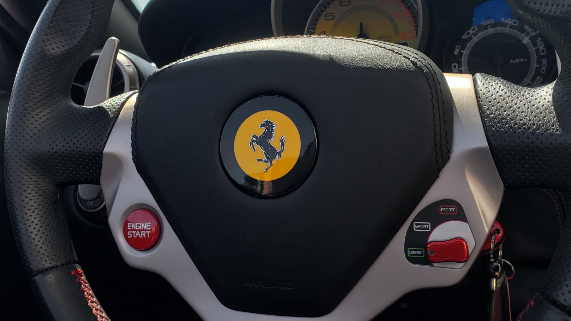 Used 2014 Ferrari CALIFORNIA CONVERTIBLE 2+2 / NAV / PARK SENS / CAMERA / TPMS for sale Sold at Formula Imports in Charlotte NC 28227 25