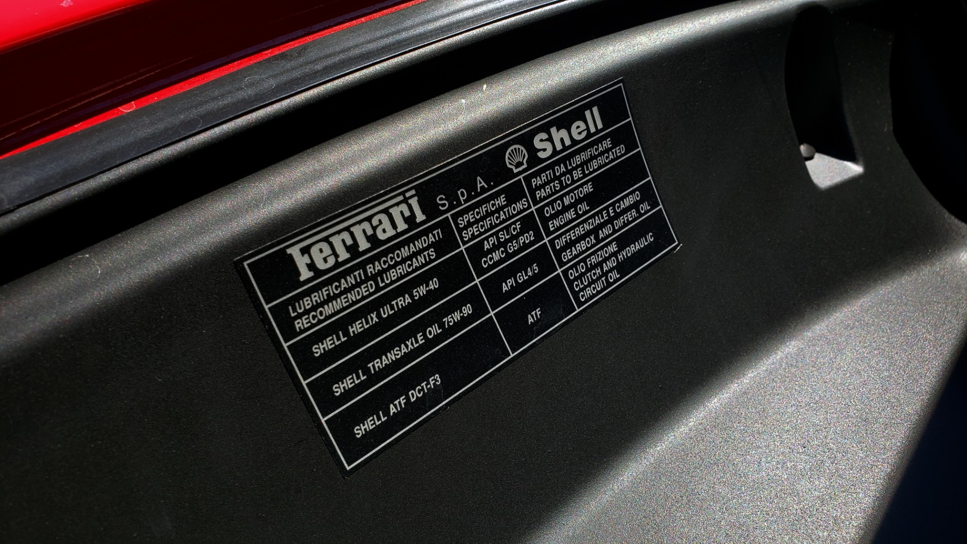 Used 2014 Ferrari CALIFORNIA CONVERTIBLE 2+2 / NAV / PARK SENS / CAMERA / TPMS for sale Sold at Formula Imports in Charlotte NC 28227 38