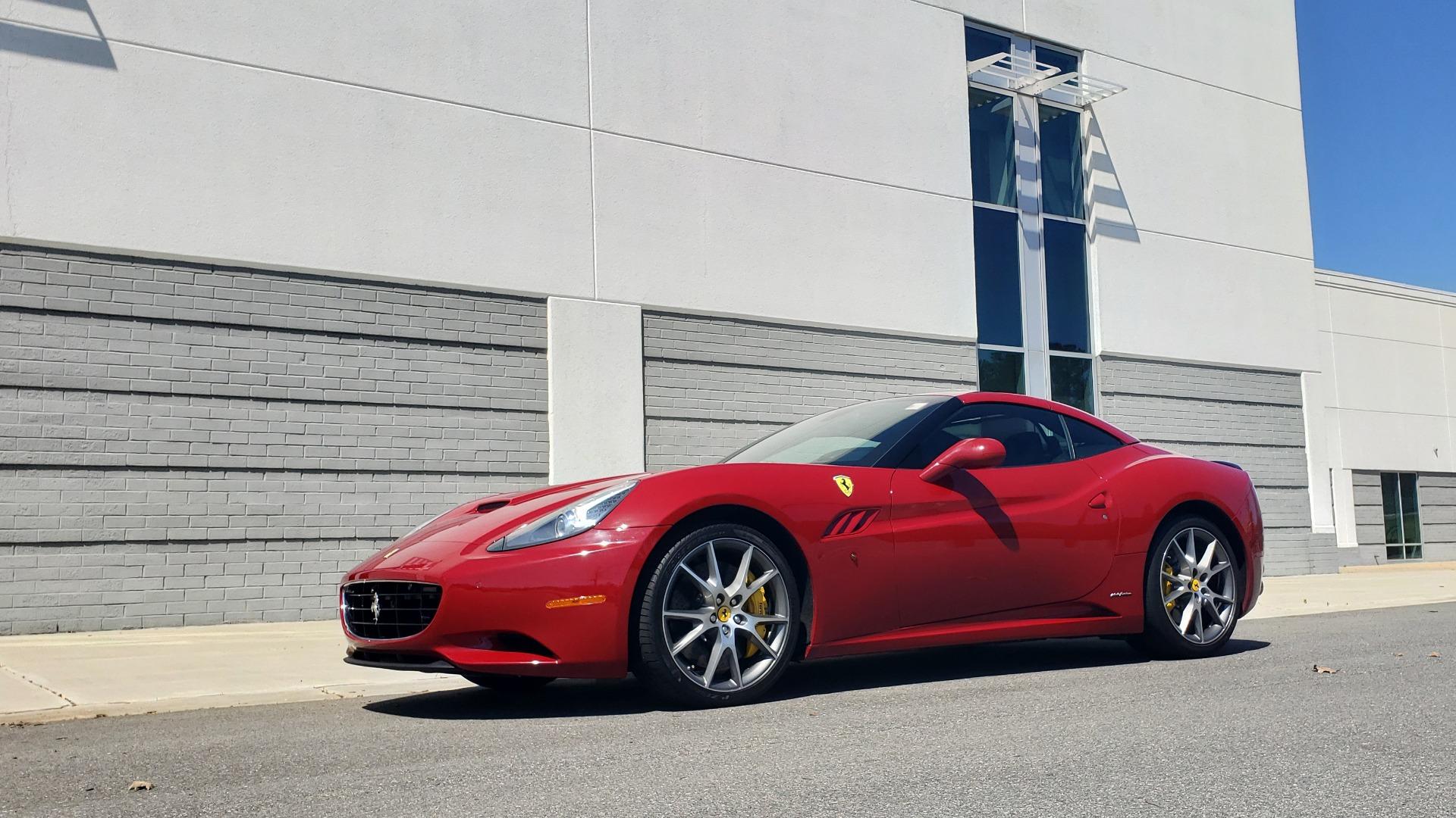 Used 2014 Ferrari CALIFORNIA CONVERTIBLE 2+2 / NAV / PARK SENS / CAMERA / TPMS for sale Sold at Formula Imports in Charlotte NC 28227 4