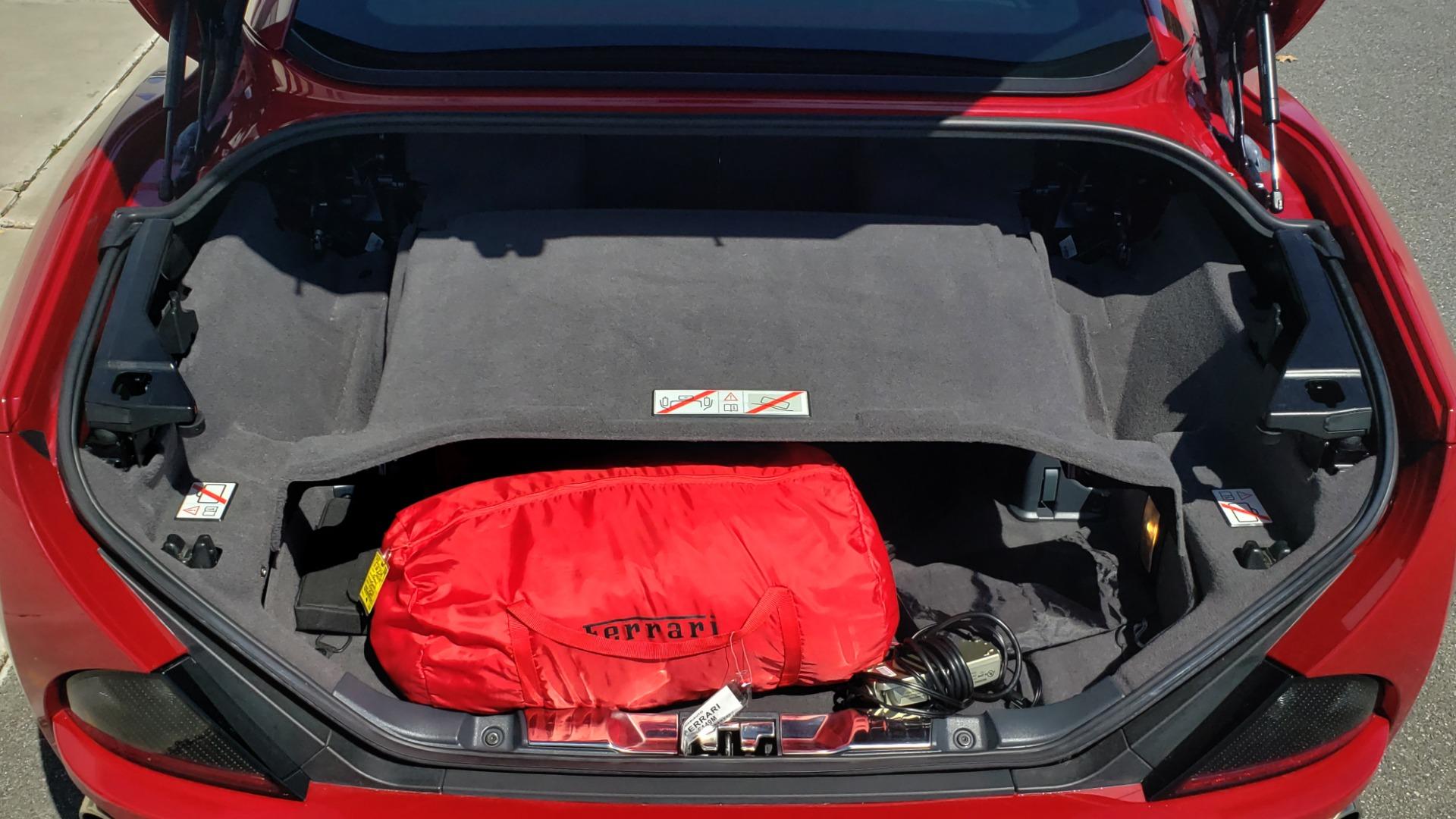 Used 2014 Ferrari CALIFORNIA CONVERTIBLE 2+2 / NAV / PARK SENS / CAMERA / TPMS for sale Sold at Formula Imports in Charlotte NC 28227 41