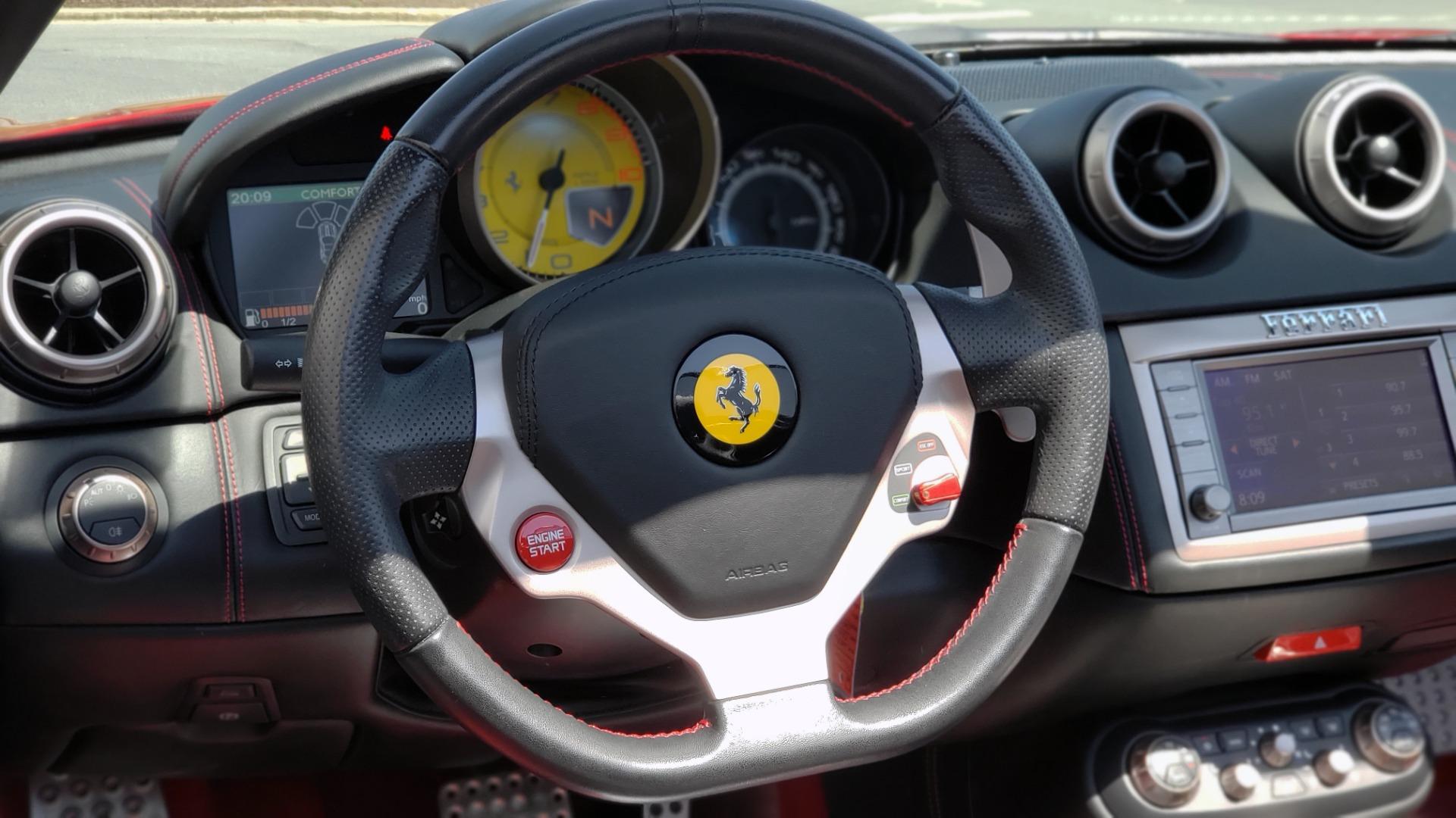 Used 2014 Ferrari CALIFORNIA CONVERTIBLE 2+2 / NAV / PARK SENS / CAMERA / TPMS for sale Sold at Formula Imports in Charlotte NC 28227 60
