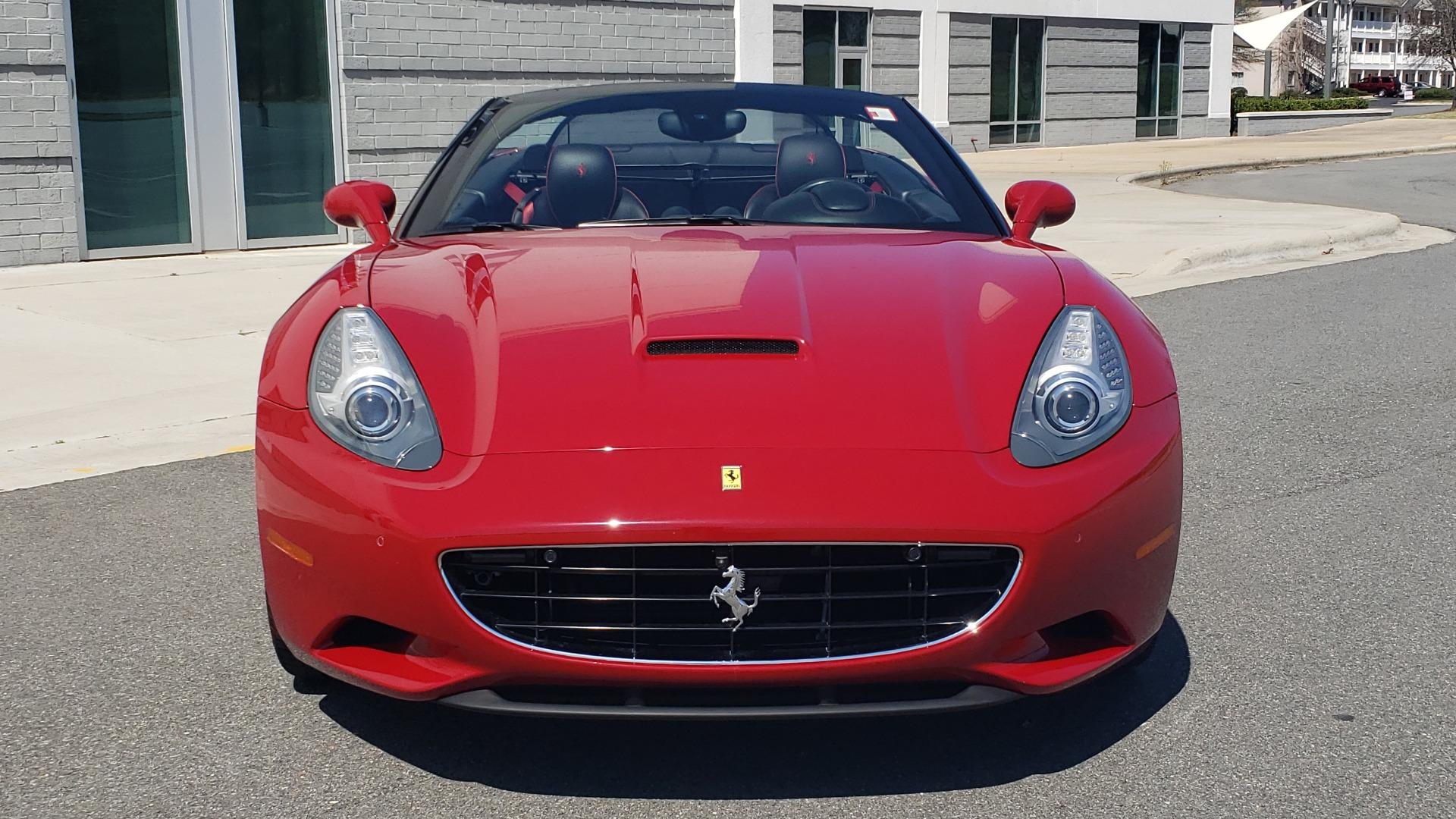 Used 2014 Ferrari CALIFORNIA CONVERTIBLE 2+2 / NAV / PARK SENS / CAMERA / TPMS for sale Sold at Formula Imports in Charlotte NC 28227 76