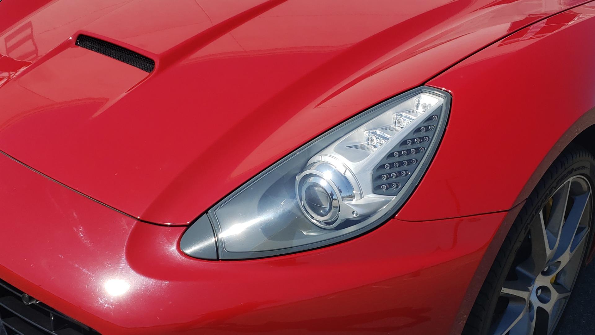 Used 2014 Ferrari CALIFORNIA CONVERTIBLE 2+2 / NAV / PARK SENS / CAMERA / TPMS for sale Sold at Formula Imports in Charlotte NC 28227 78