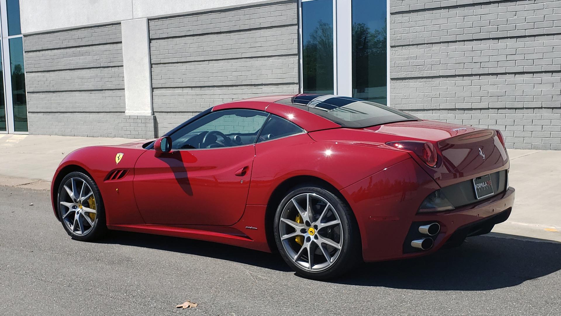 Used 2014 Ferrari CALIFORNIA CONVERTIBLE 2+2 / NAV / PARK SENS / CAMERA / TPMS for sale Sold at Formula Imports in Charlotte NC 28227 8