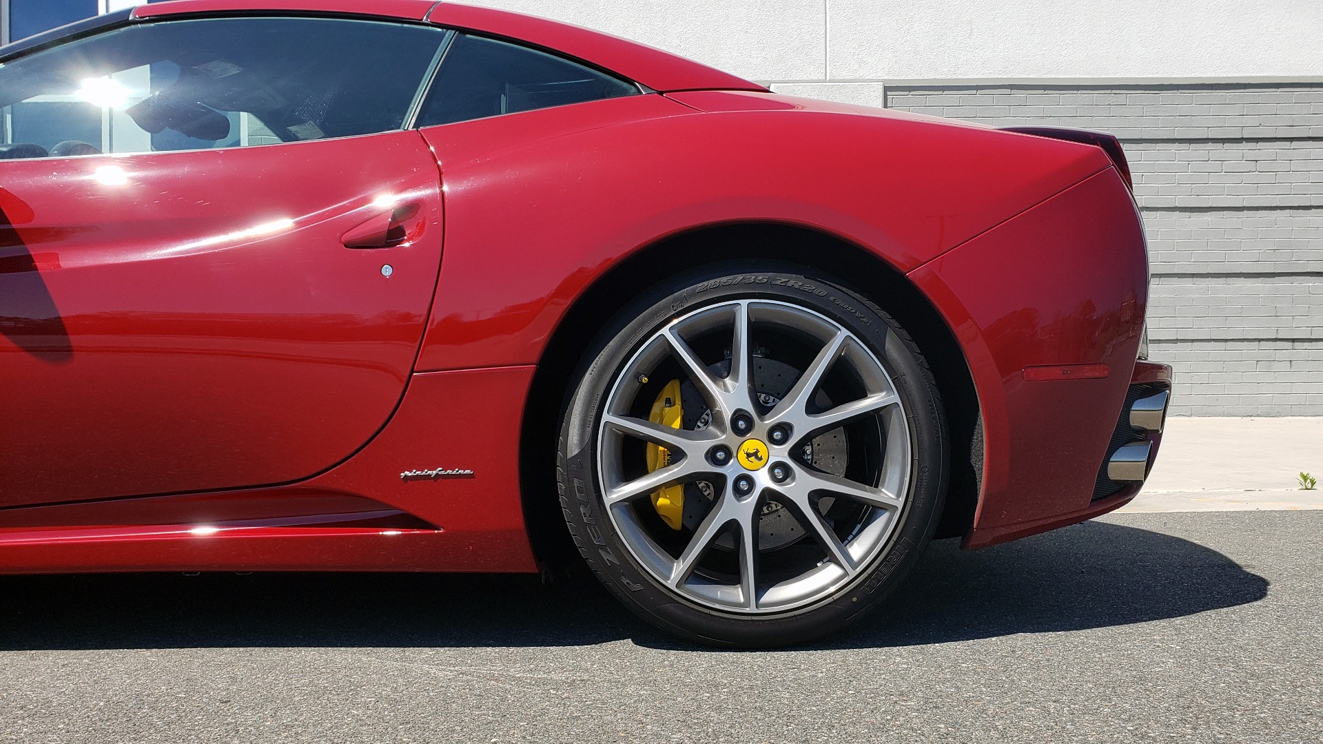 Used 2014 Ferrari CALIFORNIA CONVERTIBLE 2+2 / NAV / PARK SENS / CAMERA / TPMS for sale Sold at Formula Imports in Charlotte NC 28227 82