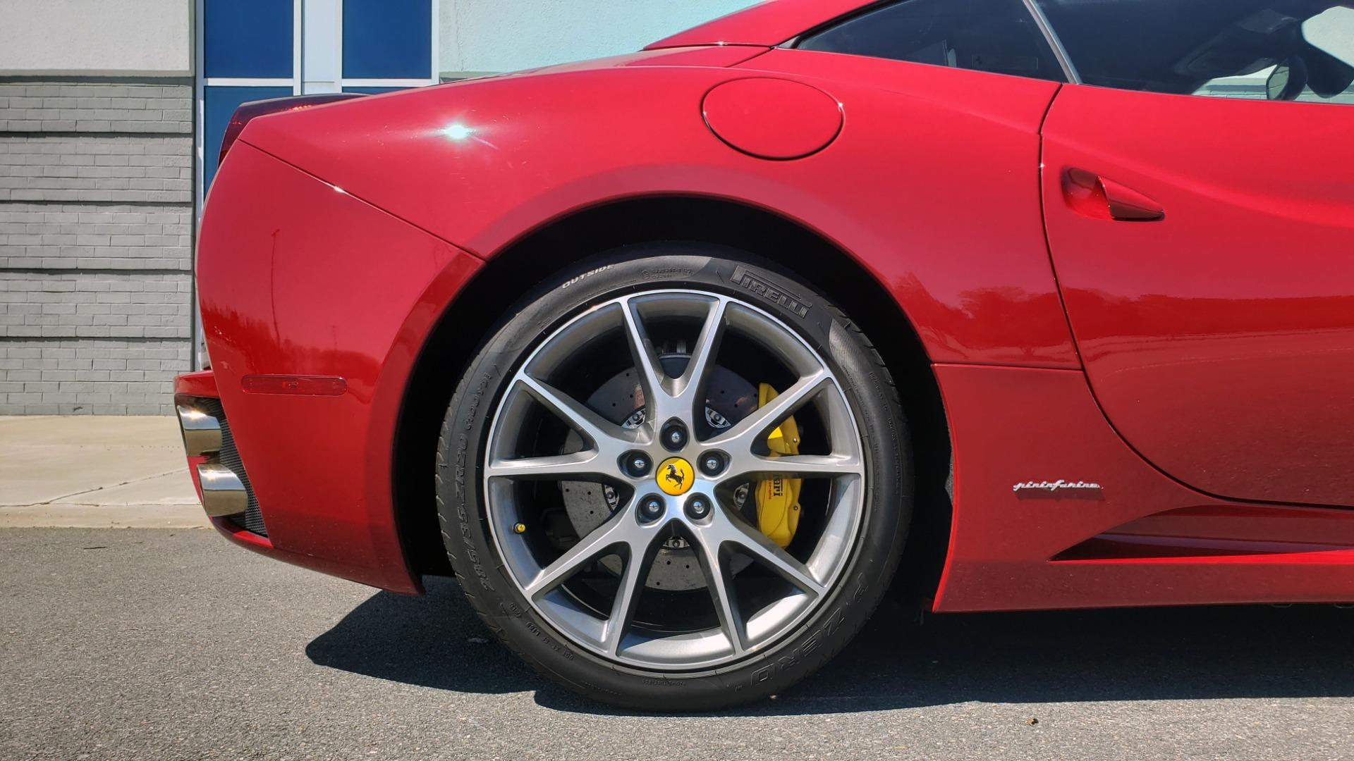 Used 2014 Ferrari CALIFORNIA CONVERTIBLE 2+2 / NAV / PARK SENS / CAMERA / TPMS for sale Sold at Formula Imports in Charlotte NC 28227 83