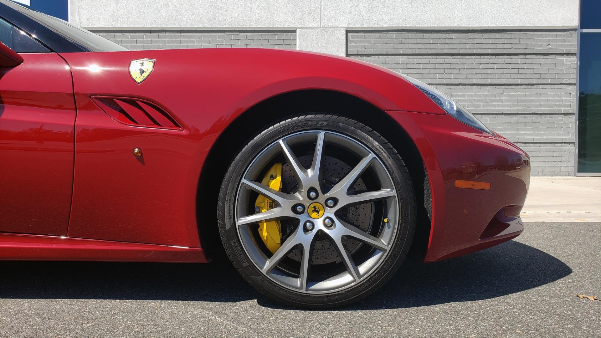 Used 2014 Ferrari CALIFORNIA CONVERTIBLE 2+2 / NAV / PARK SENS / CAMERA / TPMS for sale Sold at Formula Imports in Charlotte NC 28227 84