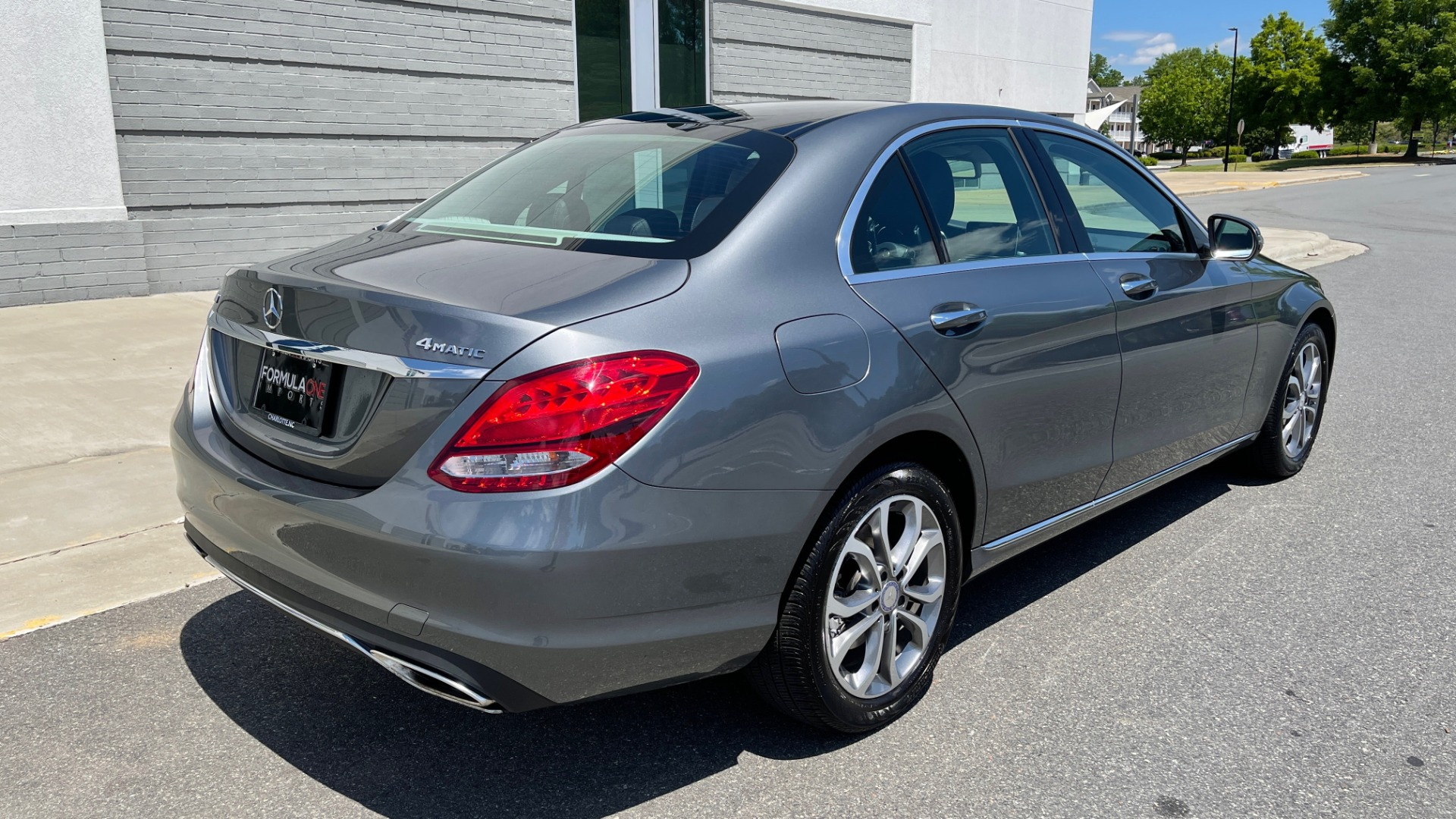 Used 2017 Mercedes-Benz C-CLASS C 300 4MATIC PREMIUM SEDAN / HTD STS / PANO-ROOF for sale Sold at Formula Imports in Charlotte NC 28227 2
