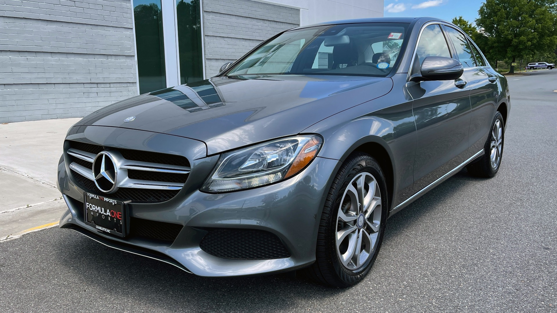 Used 2017 Mercedes-Benz C-CLASS C 300 4MATIC PREMIUM SEDAN / HTD STS / PANO-ROOF for sale Sold at Formula Imports in Charlotte NC 28227 4