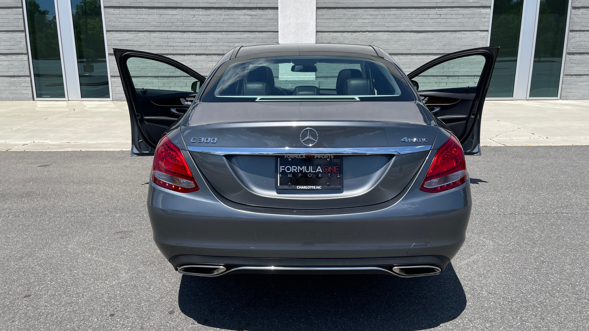 Used 2017 Mercedes-Benz C-CLASS C 300 4MATIC PREMIUM SEDAN / HTD STS / PANO-ROOF for sale Sold at Formula Imports in Charlotte NC 28227 74