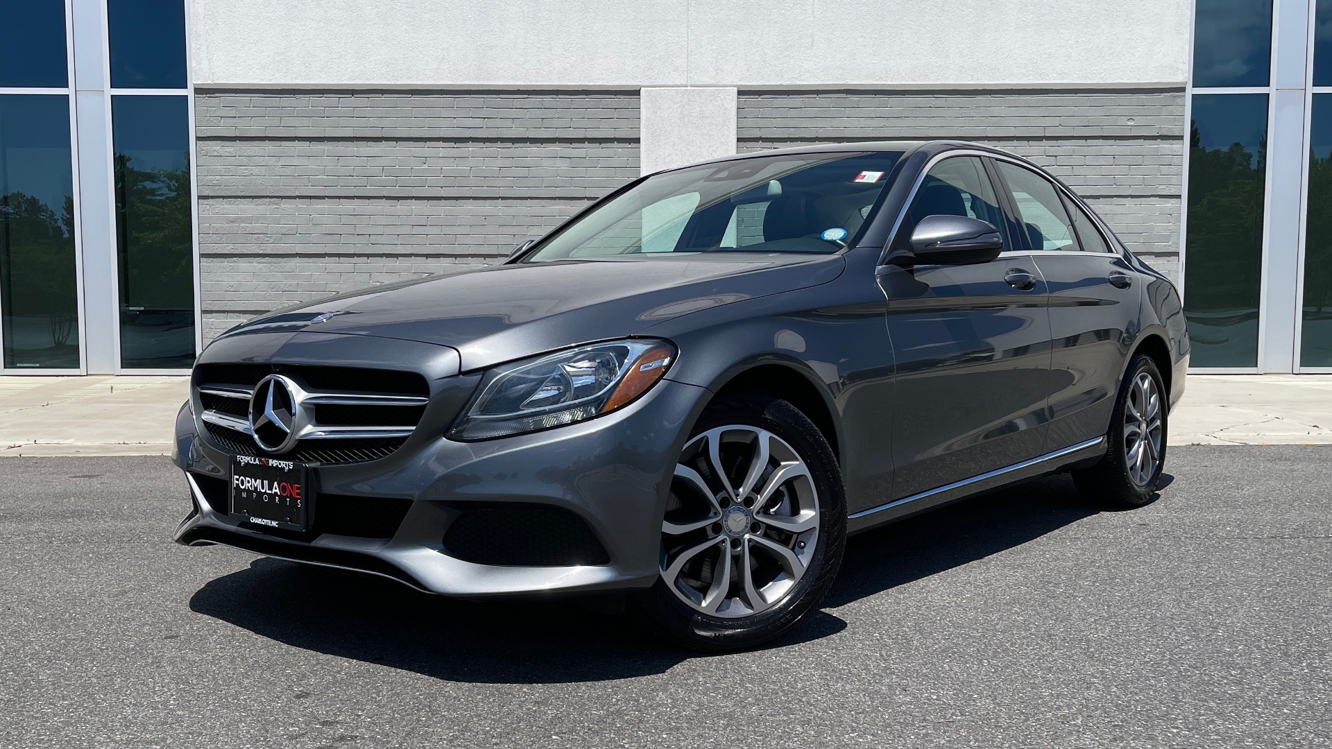 Used 2017 Mercedes-Benz C-CLASS C 300 4MATIC PREMIUM SEDAN / HTD STS / PANO-ROOF for sale $24,995 at Formula Imports in Charlotte NC 28227 1
