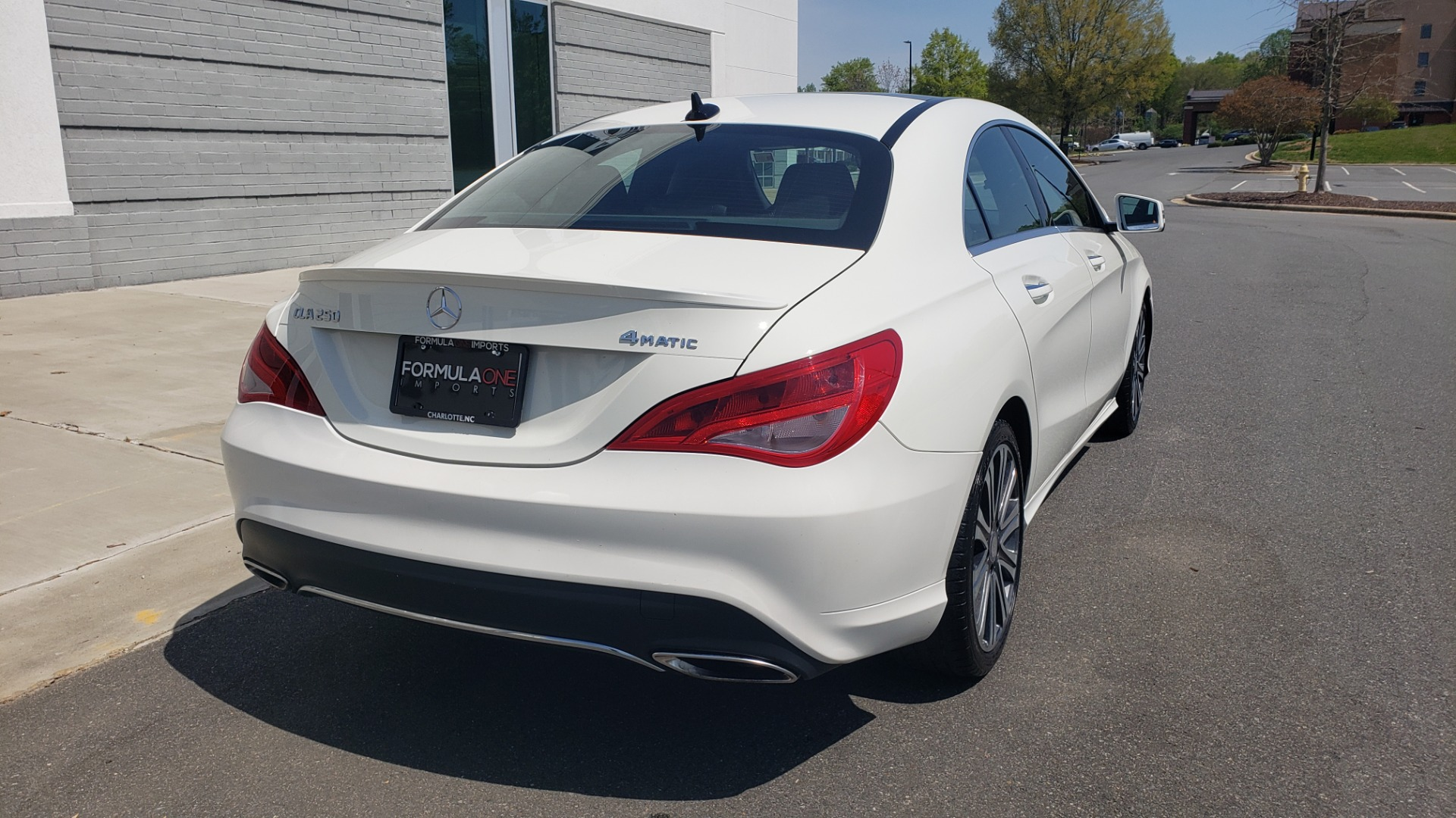 Used 2018 Mercedes-Benz CLA 250 4MATIC PREMIUM / PANO-ROOF / CONV PKG / APPLE / REARVIEW for sale $25,395 at Formula Imports in Charlotte NC 28227 8