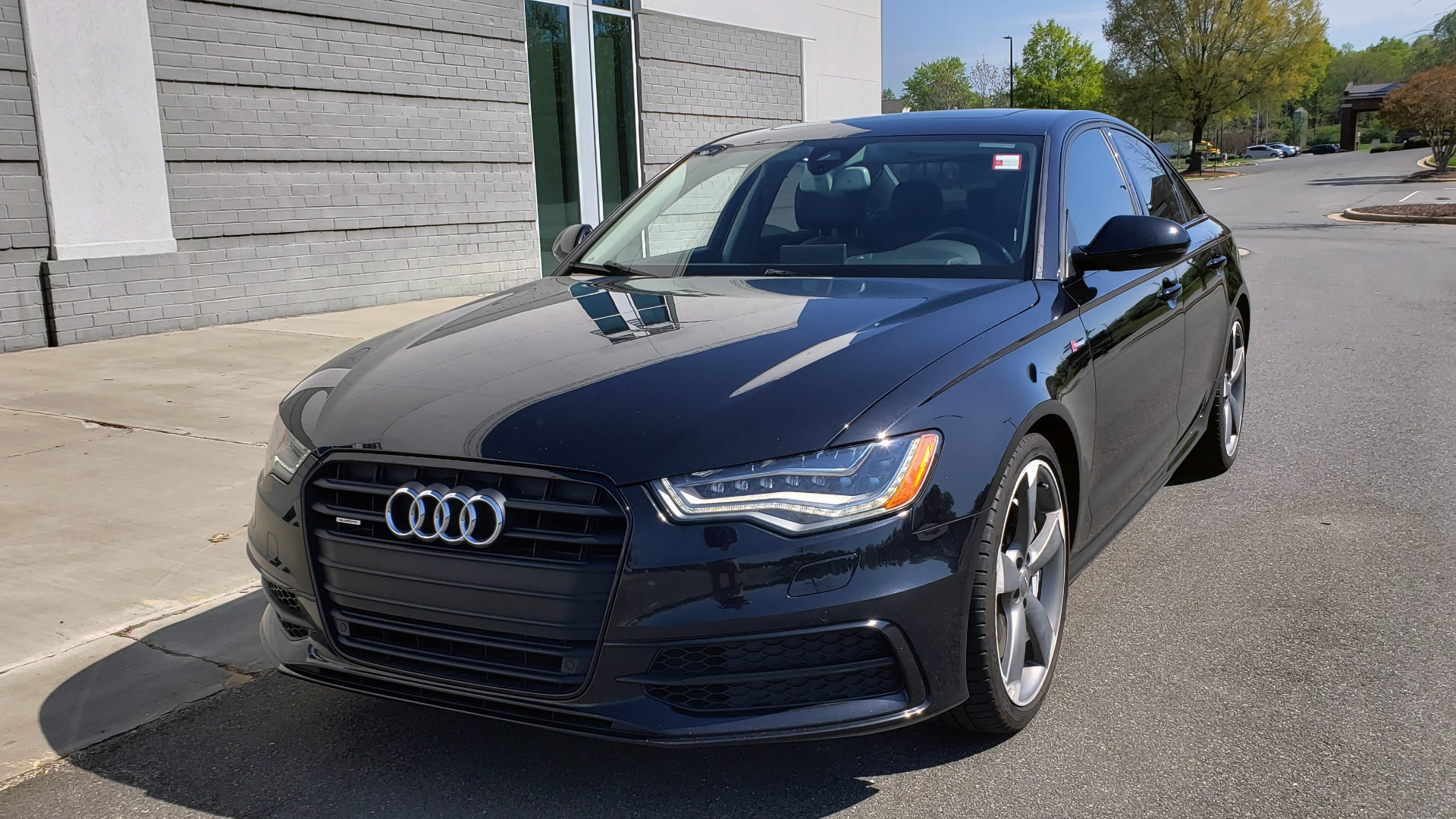 Used 2015 Audi A6 3.0T PRESTIGE / BLACK OPTIC / CLD WTHR / BOSE / HUD / SUNROOF for sale Sold at Formula Imports in Charlotte NC 28227 2