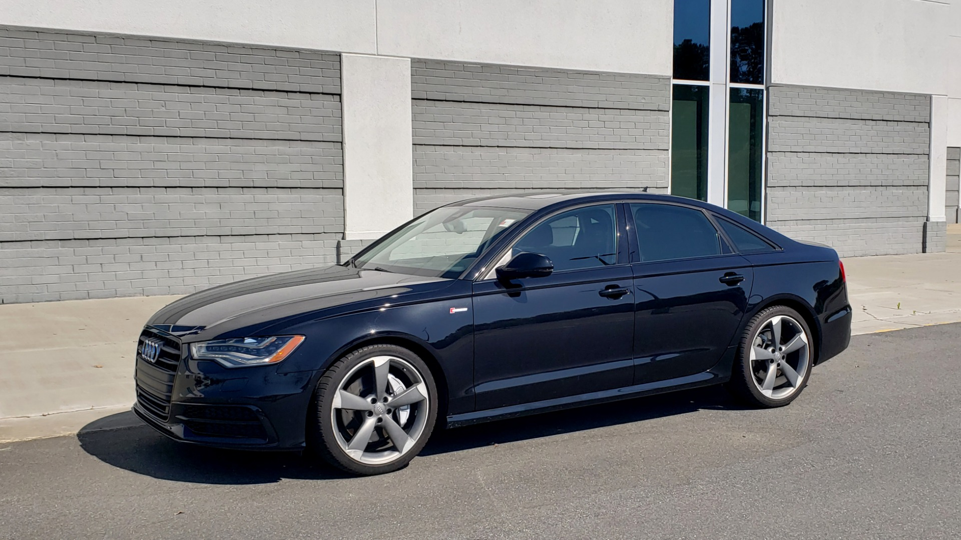 Used 2015 Audi A6 3.0T PRESTIGE / BLACK OPTIC / CLD WTHR / BOSE / HUD / SUNROOF for sale Sold at Formula Imports in Charlotte NC 28227 3