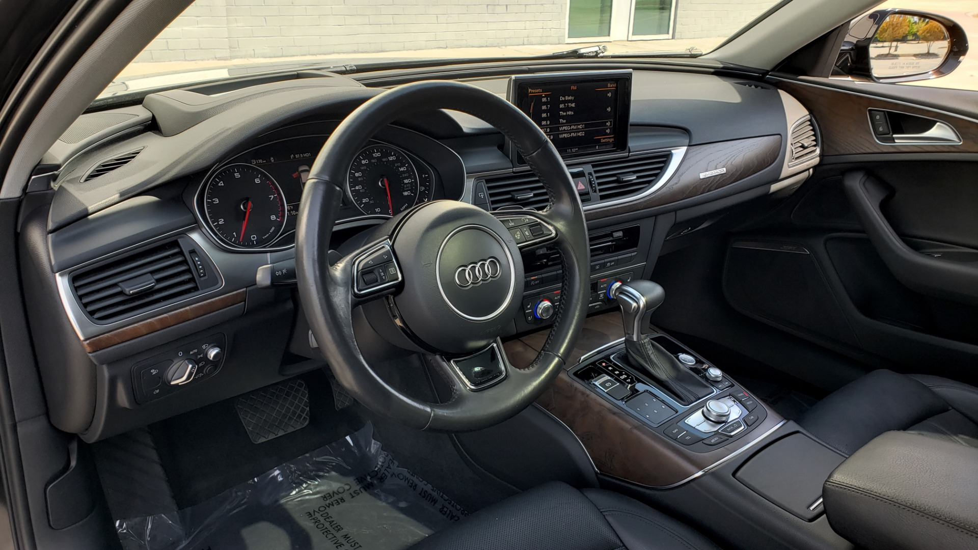 Used 2015 Audi A6 3.0T PRESTIGE / BLACK OPTIC / CLD WTHR / BOSE / HUD / SUNROOF for sale Sold at Formula Imports in Charlotte NC 28227 37