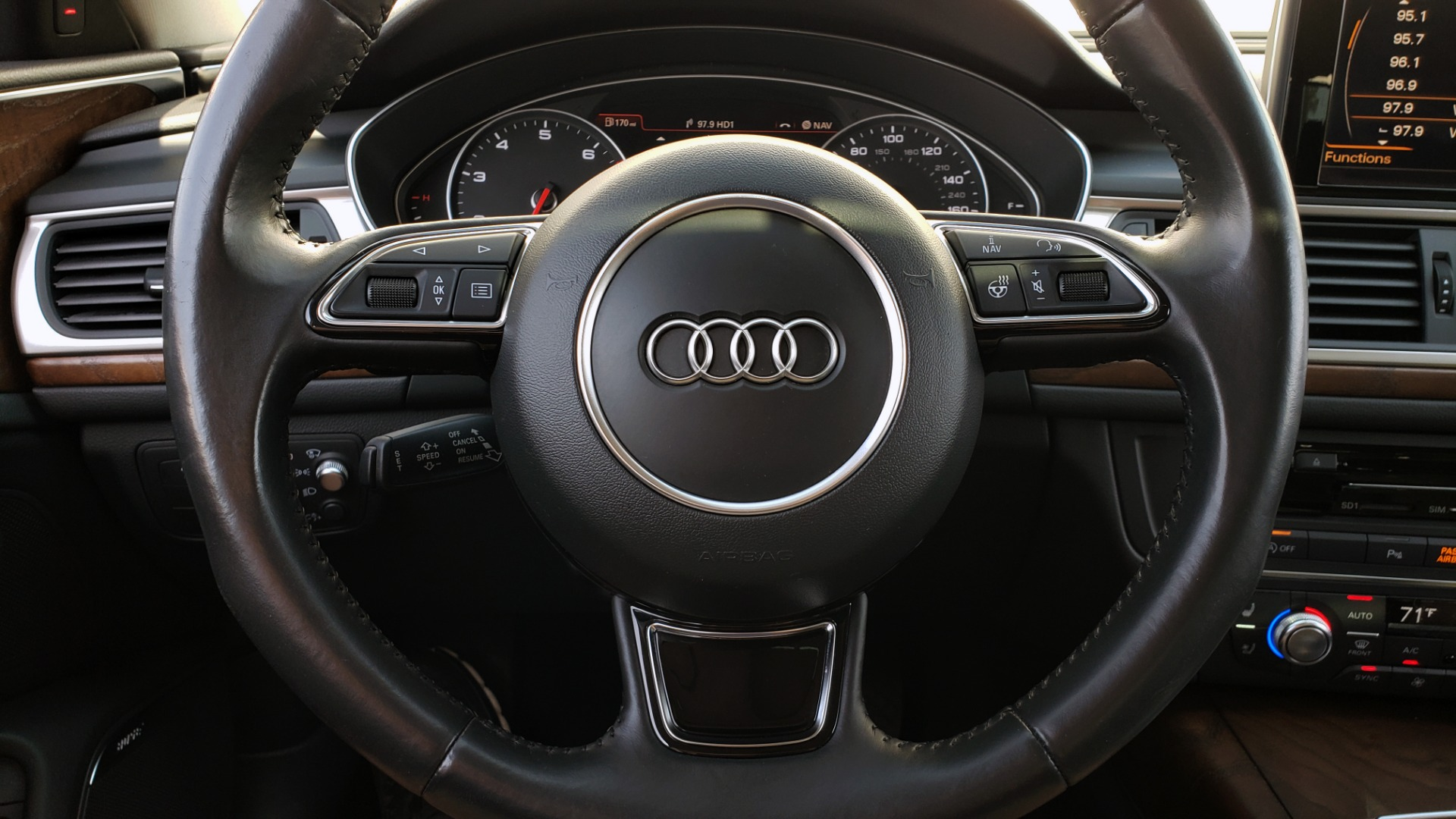 Used 2015 Audi A6 3.0T PRESTIGE / BLACK OPTIC / CLD WTHR / BOSE / HUD / SUNROOF for sale Sold at Formula Imports in Charlotte NC 28227 41
