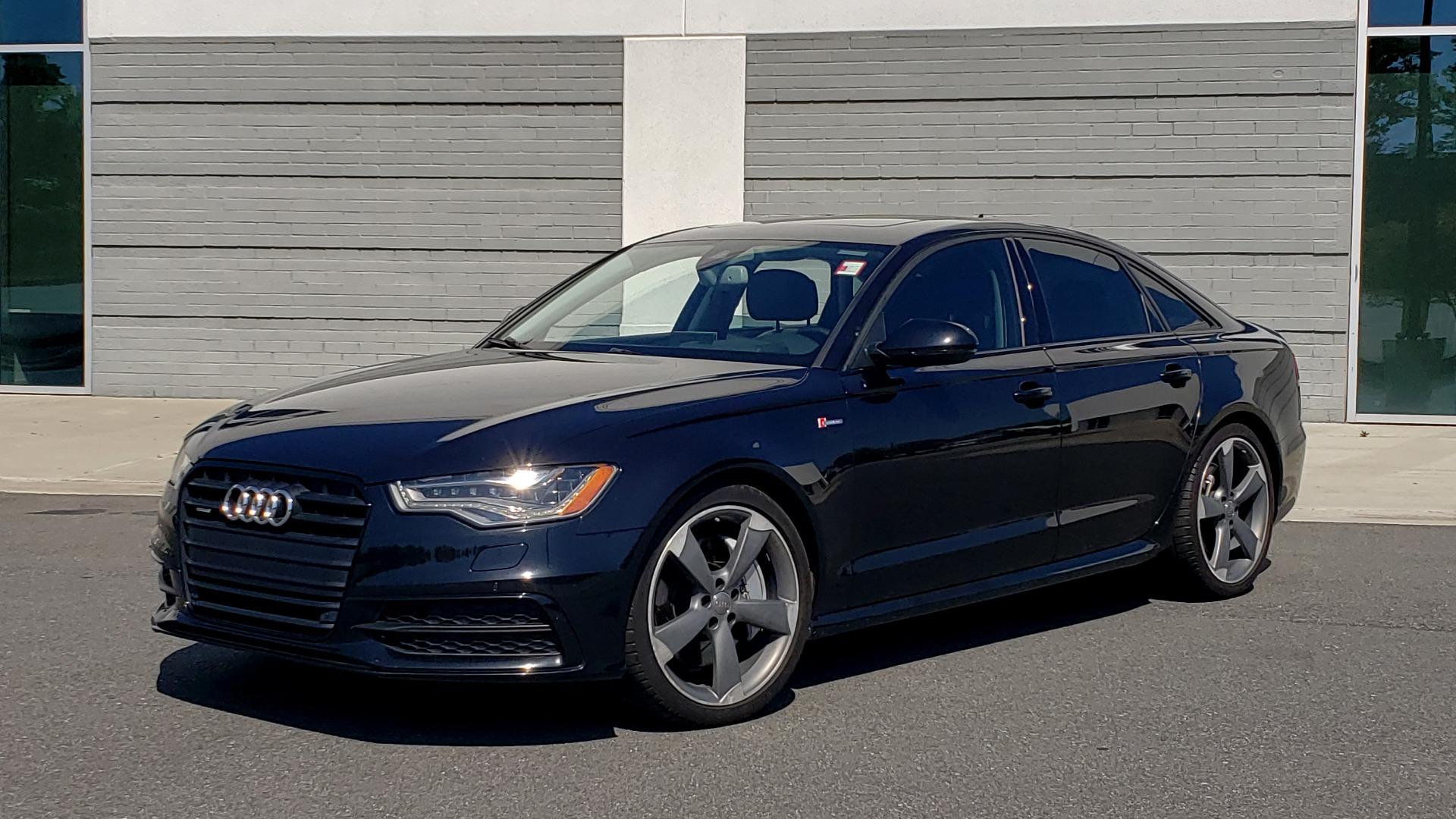 Used 2015 Audi A6 3.0T PRESTIGE / BLACK OPTIC / CLD WTHR / BOSE / HUD / SUNROOF for sale $21,995 at Formula Imports in Charlotte NC 28227 1