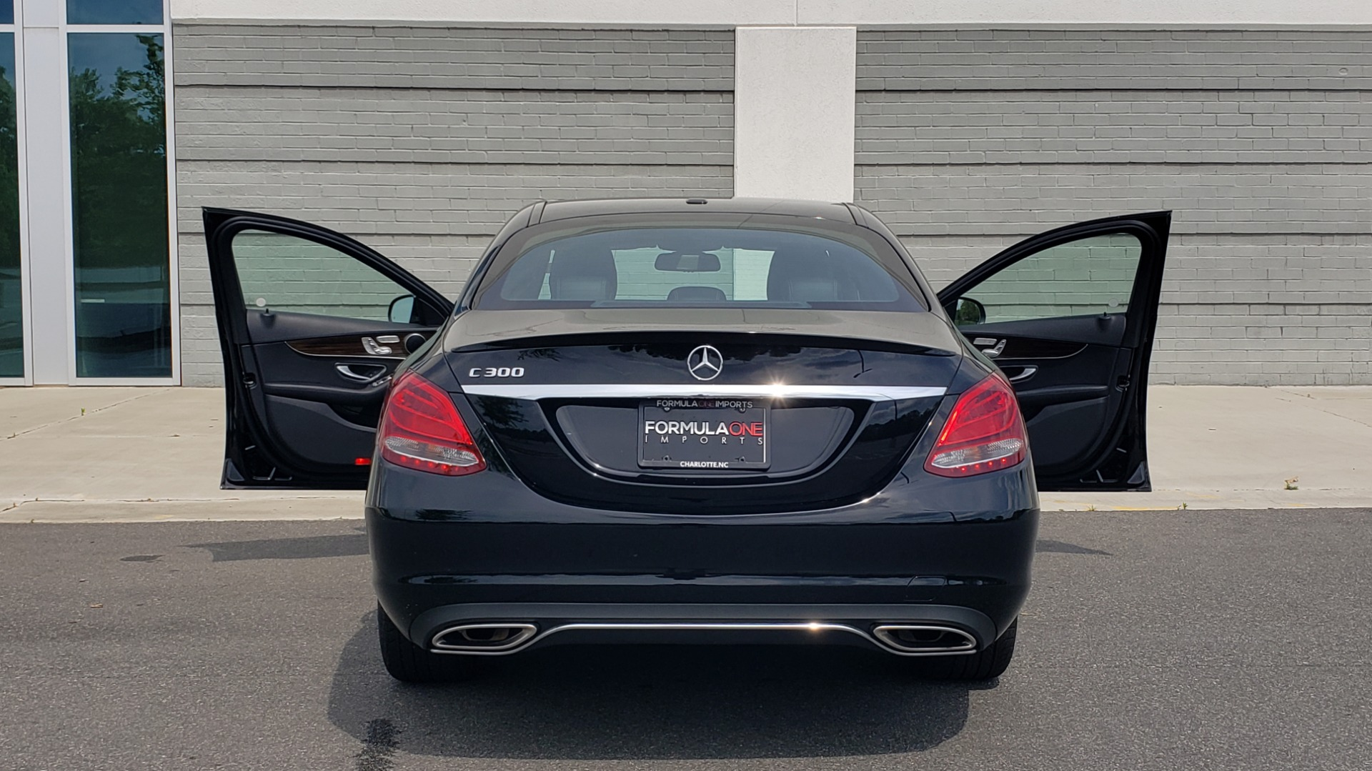 Used 2018 Mercedes-Benz C-CLASS C 300 PREMIUM / HTD STS / APPLE CARPLAY / 18IN WHEELS / REARVIEW for sale $24,795 at Formula Imports in Charlotte NC 28227 28