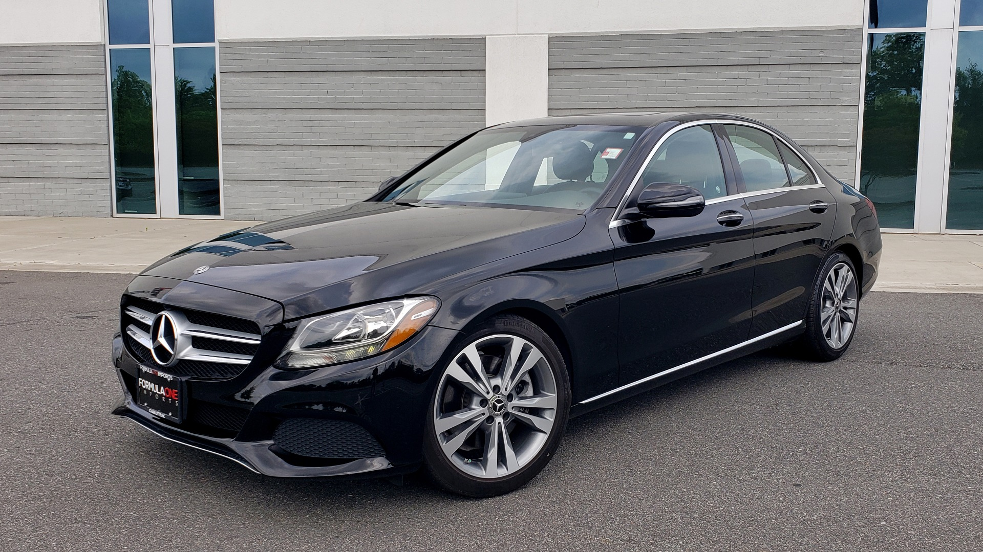 Used 2018 Mercedes-Benz C-CLASS C 300 PREMIUM / HTD STS / APPLE CARPLAY / 18IN WHEELS / REARVIEW for sale $24,795 at Formula Imports in Charlotte NC 28227 1