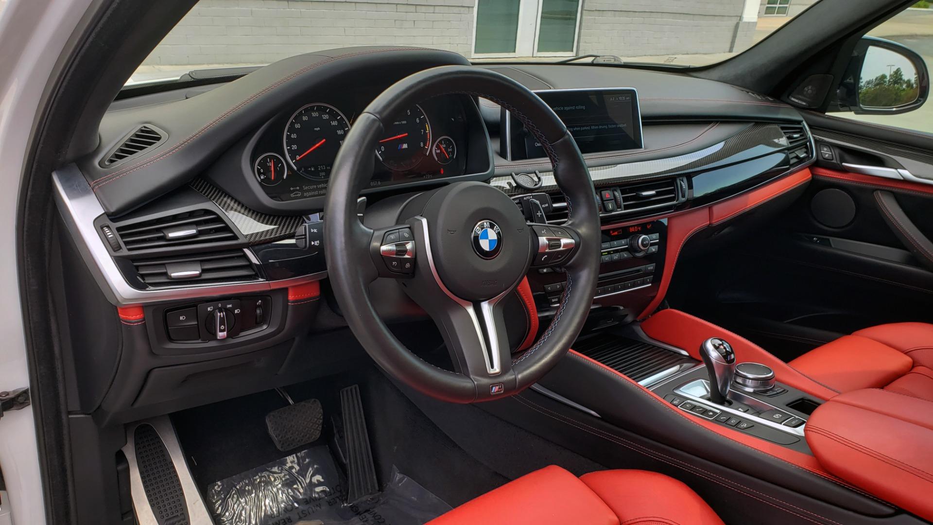 Used 2017 BMW X5 M EXECUTIVE PKG / NAV / DRVR ASST / BSM / HUD / HTD STS / WIFI for sale Sold at Formula Imports in Charlotte NC 28227 34