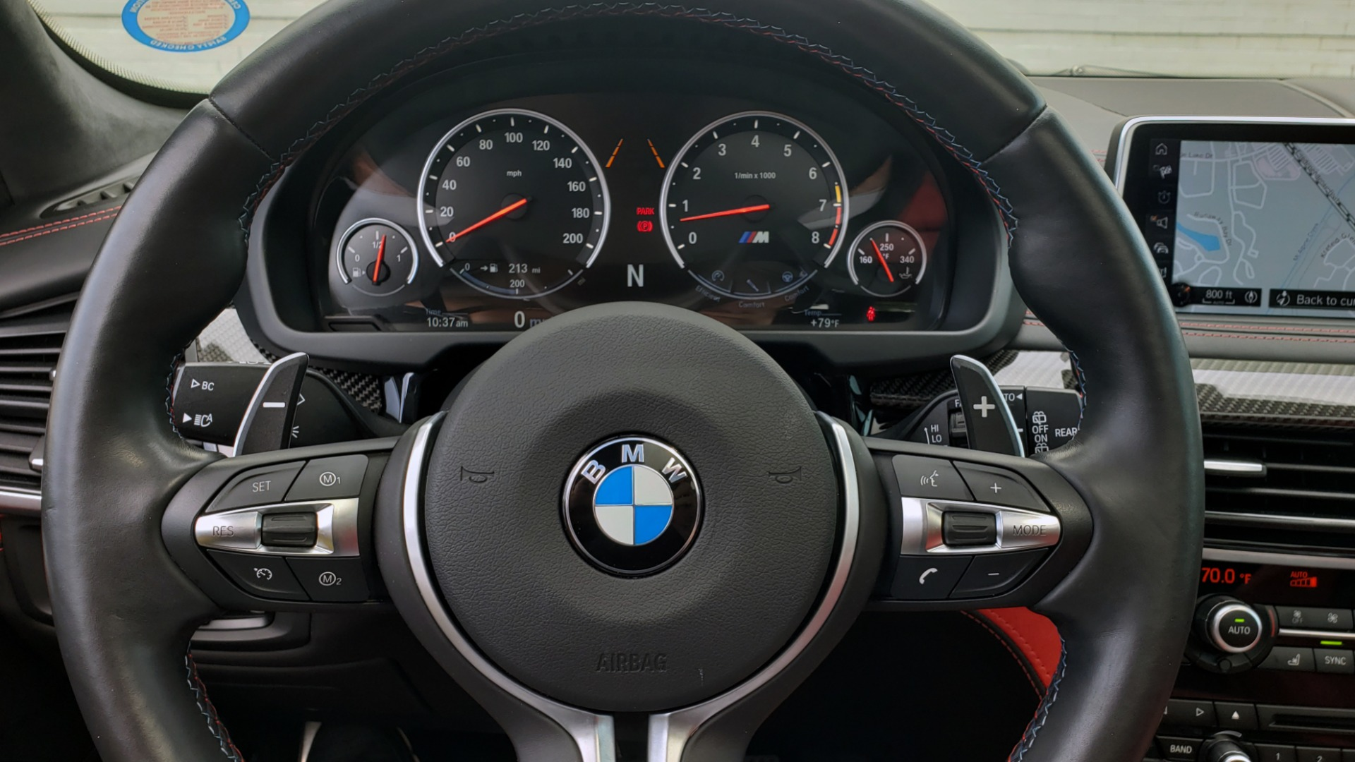 Used 2017 BMW X5 M EXECUTIVE PKG / NAV / DRVR ASST / BSM / HUD / HTD STS / WIFI for sale Sold at Formula Imports in Charlotte NC 28227 38