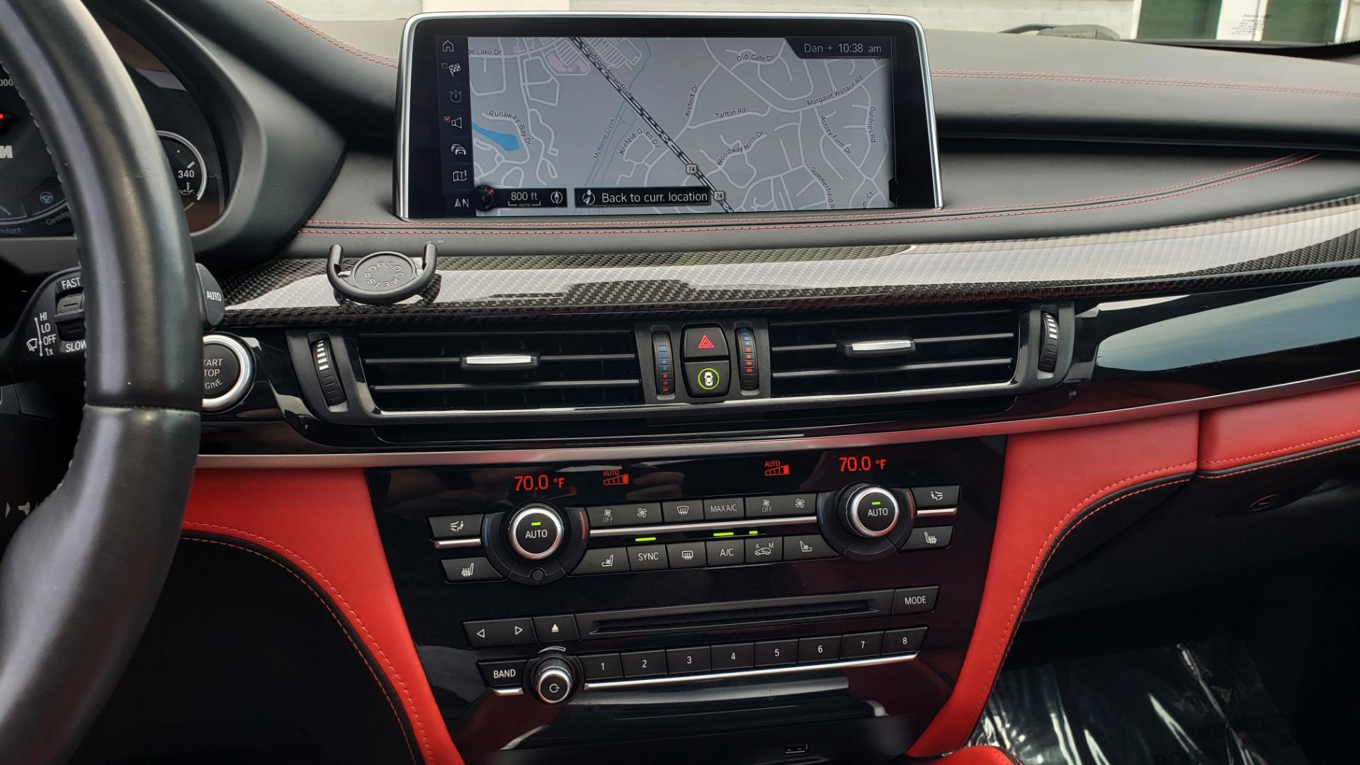 Used 2017 BMW X5 M EXECUTIVE PKG / NAV / DRVR ASST / BSM / HUD / HTD STS / WIFI for sale Sold at Formula Imports in Charlotte NC 28227 46