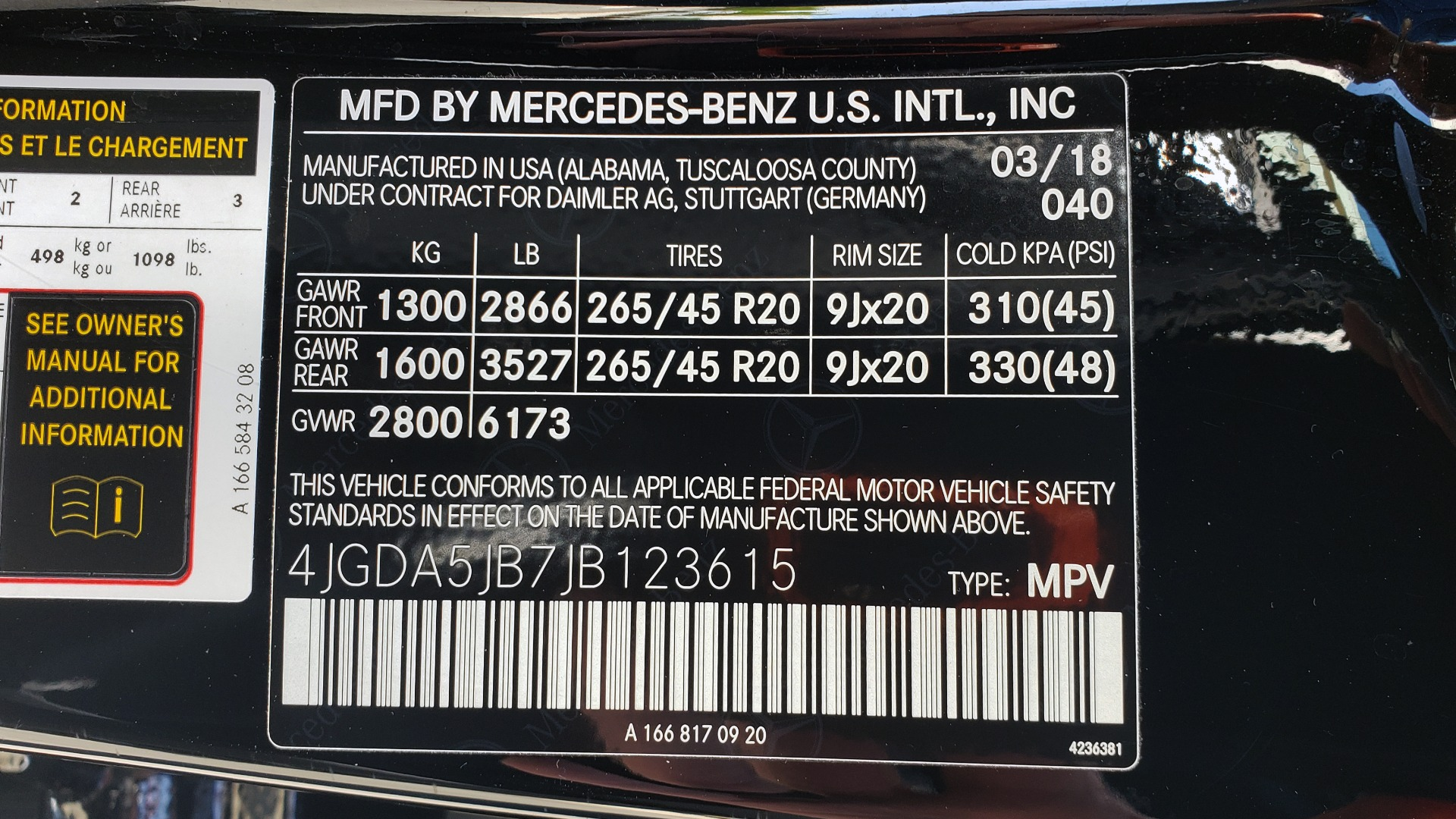 Used 2018 Mercedes-Benz GLE 350 PREMIUM / NAV / H/K SOUND / SUNROOF / REARVIEW for sale Sold at Formula Imports in Charlotte NC 28227 98