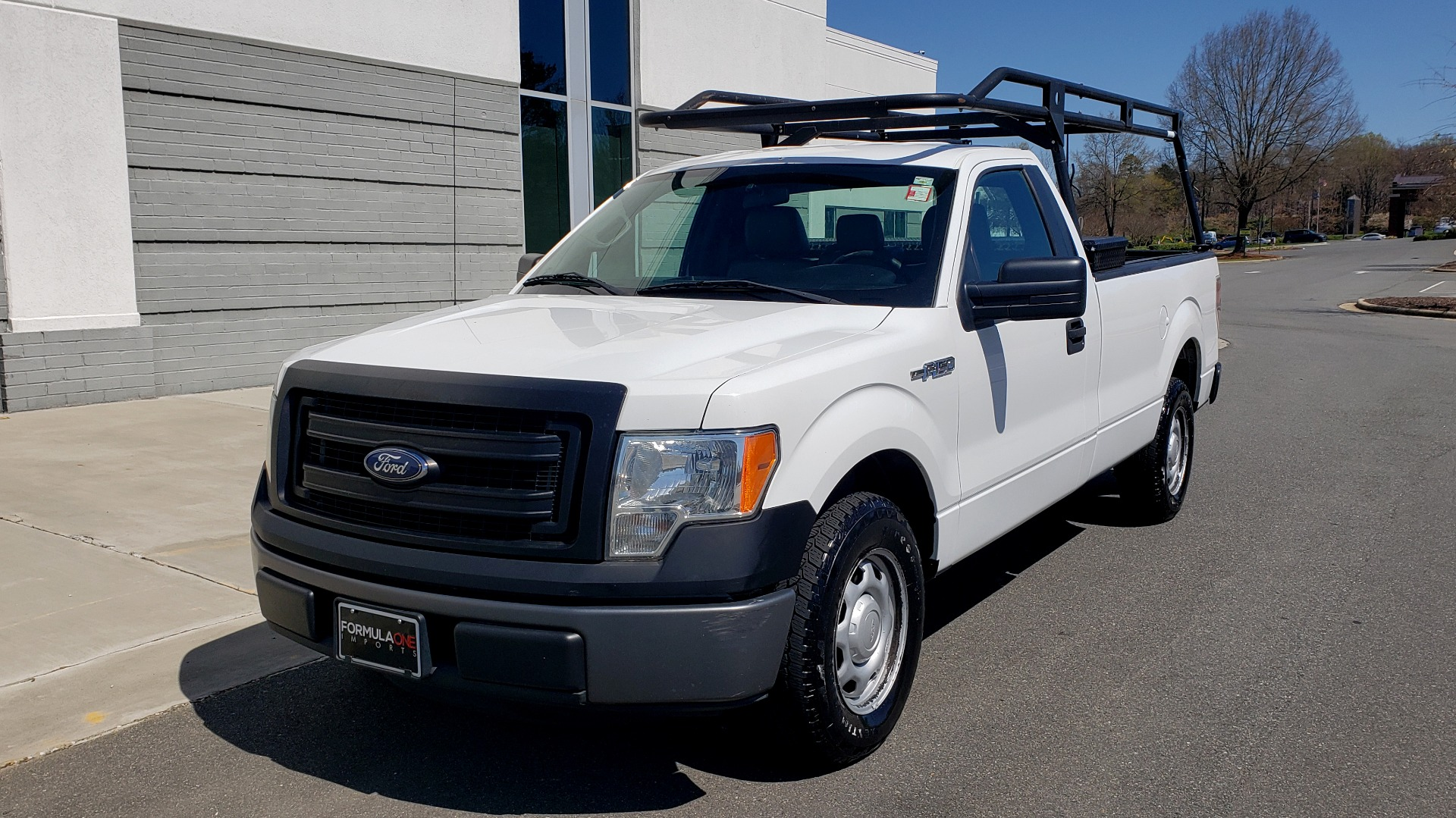 Used 2013 Ford F-150 XL 4X2 REG CAB / 3.7L V6 / 6-SPD AUTO / WORK TRUCK for sale Call for price at Formula Imports in Charlotte NC 28227 1