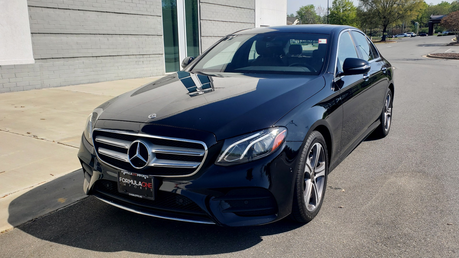 Used 2018 Mercedes-Benz E-CLASS E 300 4MATIC PREMIUM / NAV / BURMESTER SND / BSM / REARVIEW for sale $33,995 at Formula Imports in Charlotte NC 28227 3