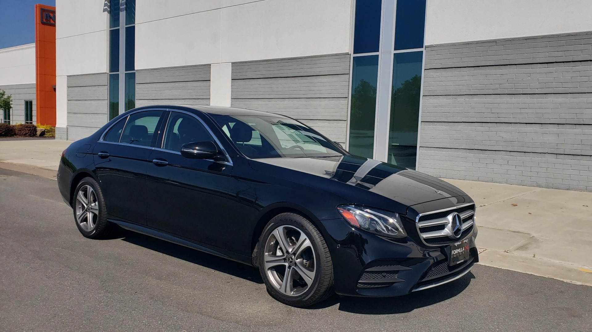 Used 2018 Mercedes-Benz E-CLASS E 300 4MATIC PREMIUM / NAV / BURMESTER SND / BSM / REARVIEW for sale $33,995 at Formula Imports in Charlotte NC 28227 7