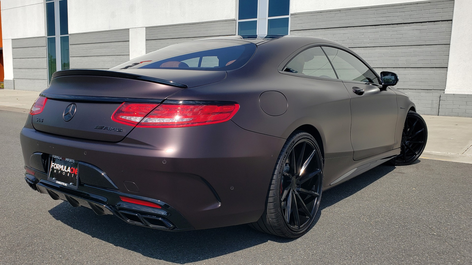 Used 2017 Mercedes-Benz S-CLASS AMG S 63 / NAV / SUNROOF / CUSTOM WRAP / BLACK VOSSEN WHEELS for sale Sold at Formula Imports in Charlotte NC 28227 2