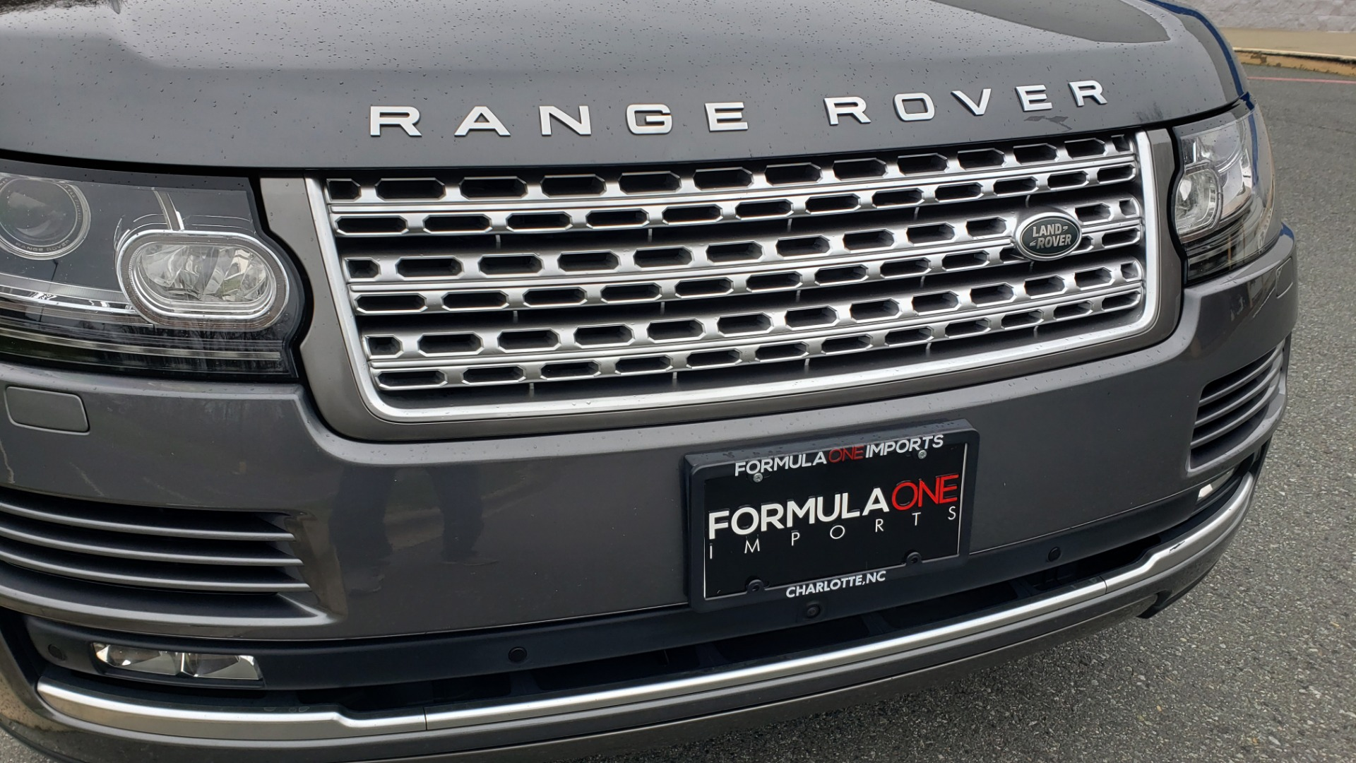 Used 2016 Land Rover RANGE ROVER SUPERCHARGED V8 / NAV / PANO-ROOF / MERIDIAN SND / REARVIEW for sale Sold at Formula Imports in Charlotte NC 28227 9