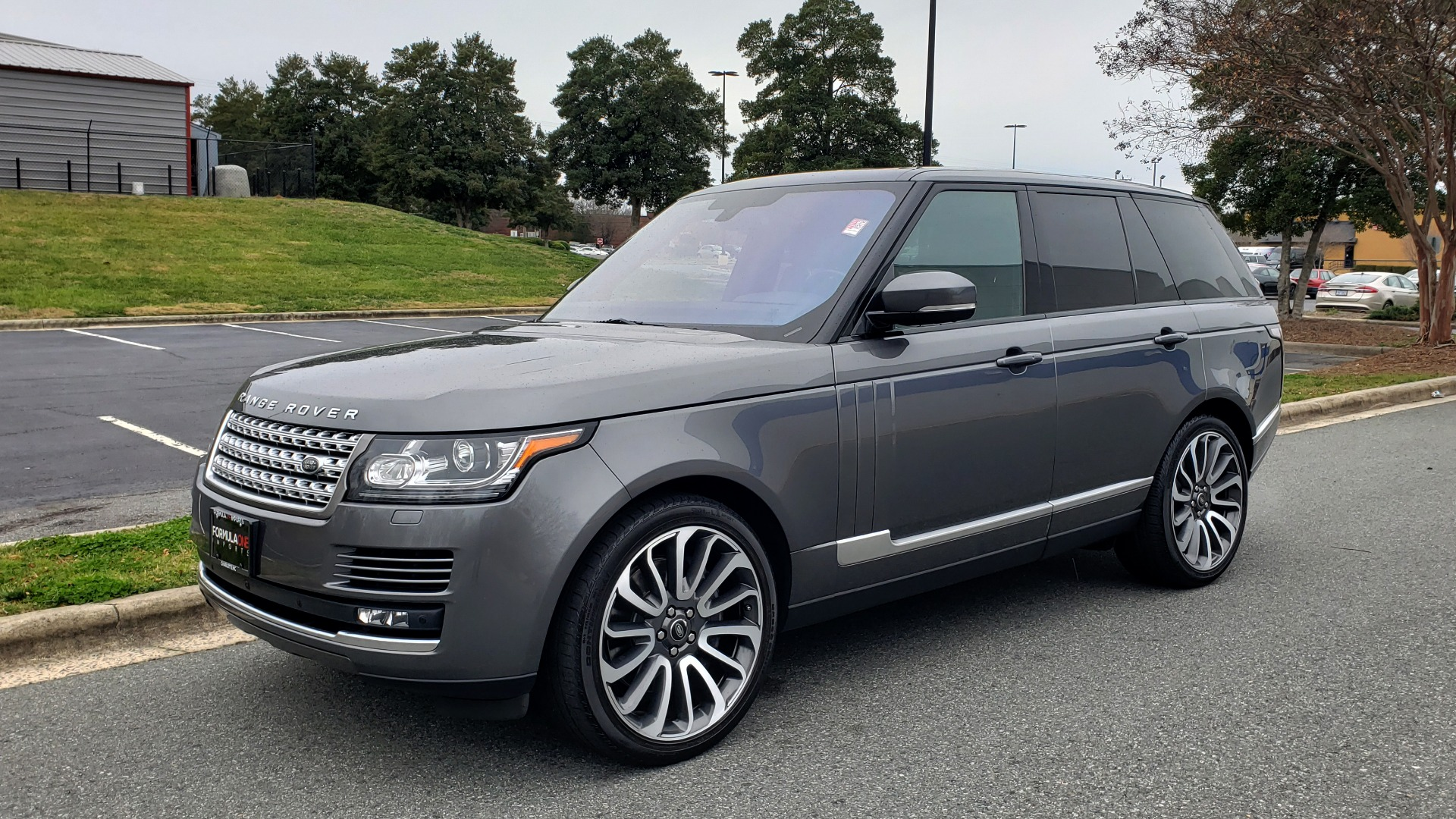 Used 2016 Land Rover RANGE ROVER SUPERCHARGED V8 / NAV / PANO-ROOF / MERIDIAN SND / REARVIEW for sale Sold at Formula Imports in Charlotte NC 28227 1