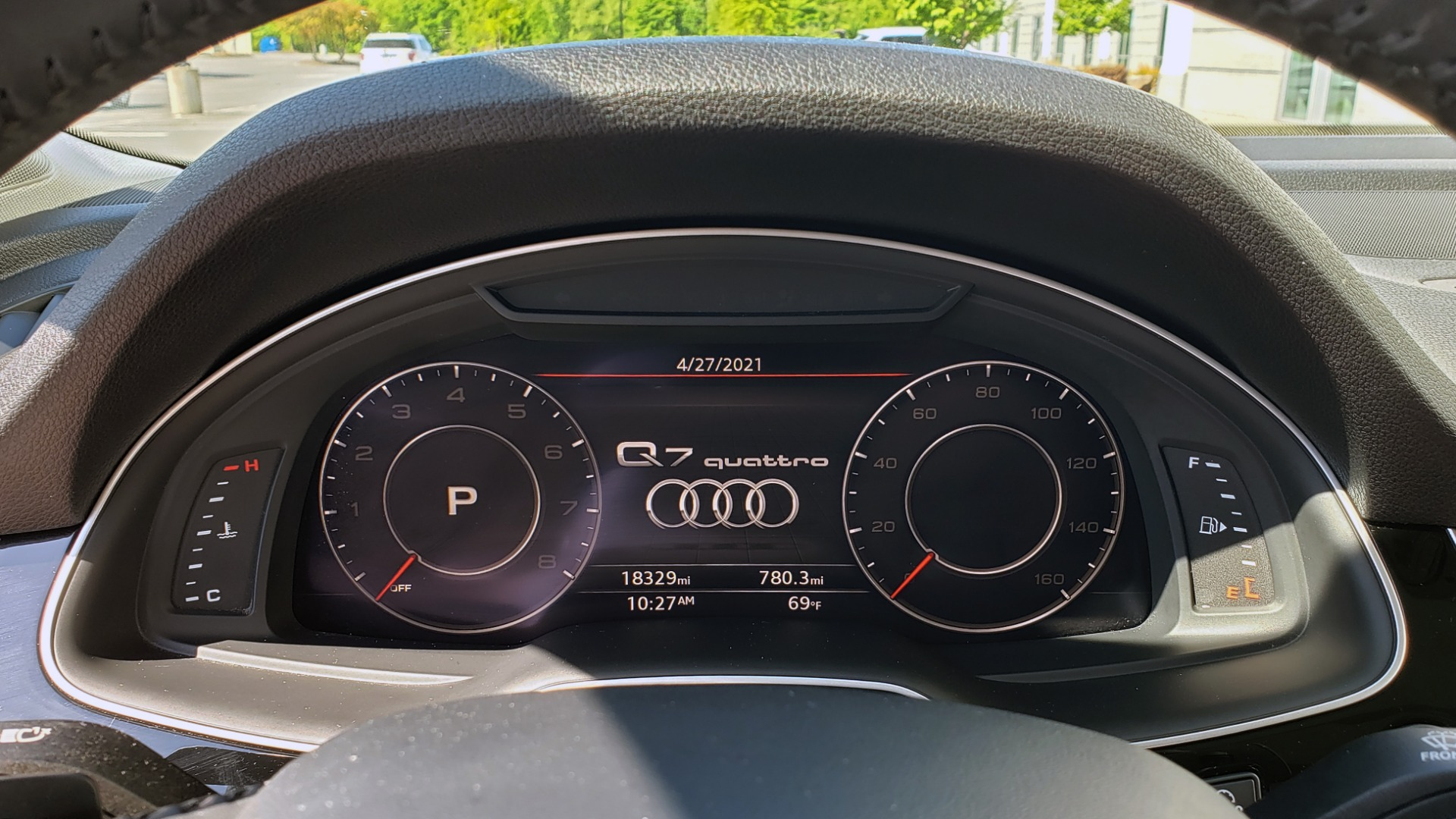 Used 2018 Audi Q7 PREMIUM PLUS TIPTRONIC / NAV / SUNROOF / VISION PKG / CLD WTHR / REARVIEW for sale $44,395 at Formula Imports in Charlotte NC 28227 12