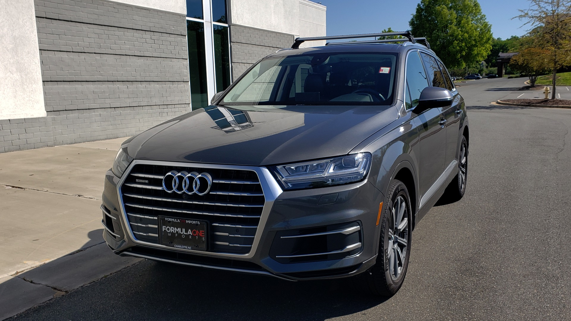Used 2018 Audi Q7 PREMIUM PLUS TIPTRONIC / NAV / SUNROOF / VISION PKG / CLD WTHR / REARVIEW for sale $44,395 at Formula Imports in Charlotte NC 28227 2