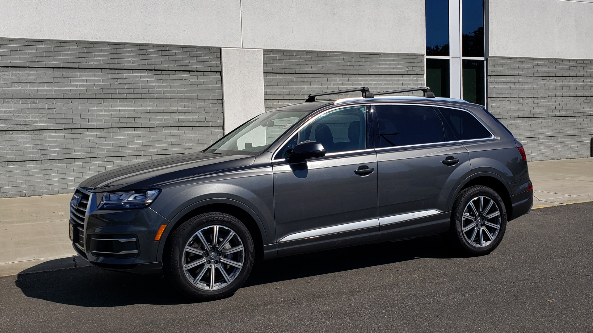 Used 2018 Audi Q7 PREMIUM PLUS TIPTRONIC / NAV / SUNROOF / VISION PKG / CLD WTHR / REARVIEW for sale $44,395 at Formula Imports in Charlotte NC 28227 3