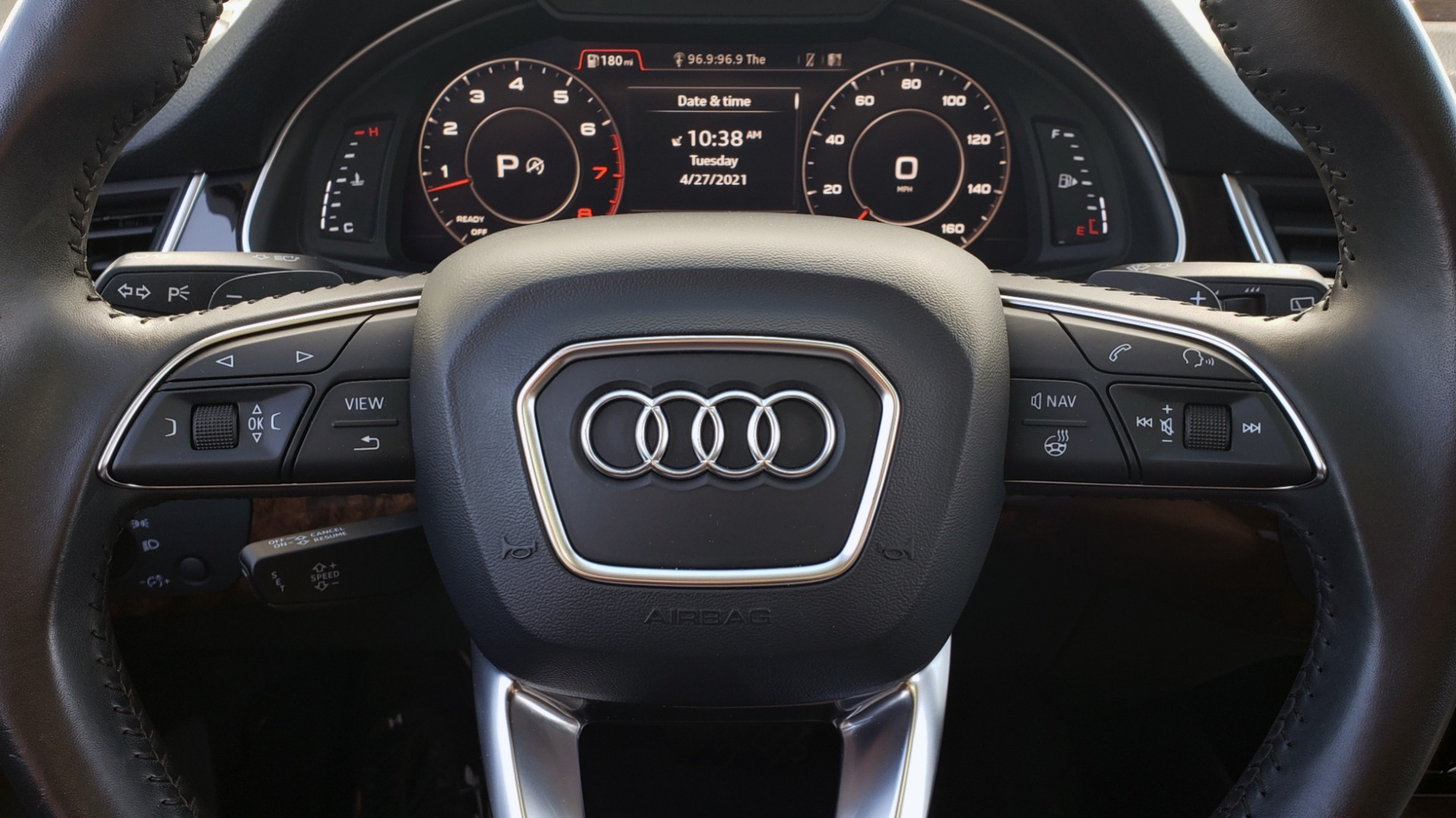 Used 2018 Audi Q7 PREMIUM PLUS TIPTRONIC / NAV / SUNROOF / VISION PKG / CLD WTHR / REARVIEW for sale $44,395 at Formula Imports in Charlotte NC 28227 44