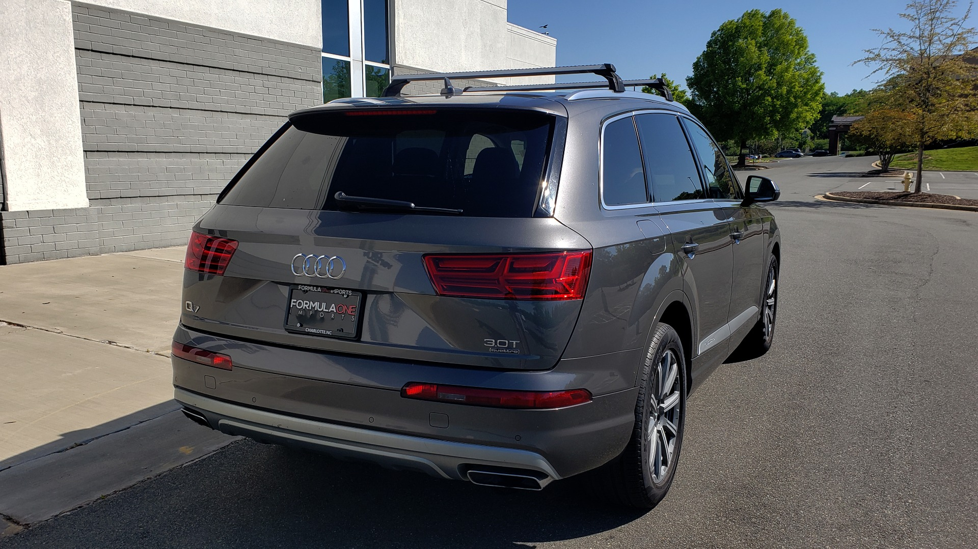 Used 2018 Audi Q7 PREMIUM PLUS TIPTRONIC / NAV / SUNROOF / VISION PKG / CLD WTHR / REARVIEW for sale $44,395 at Formula Imports in Charlotte NC 28227 7