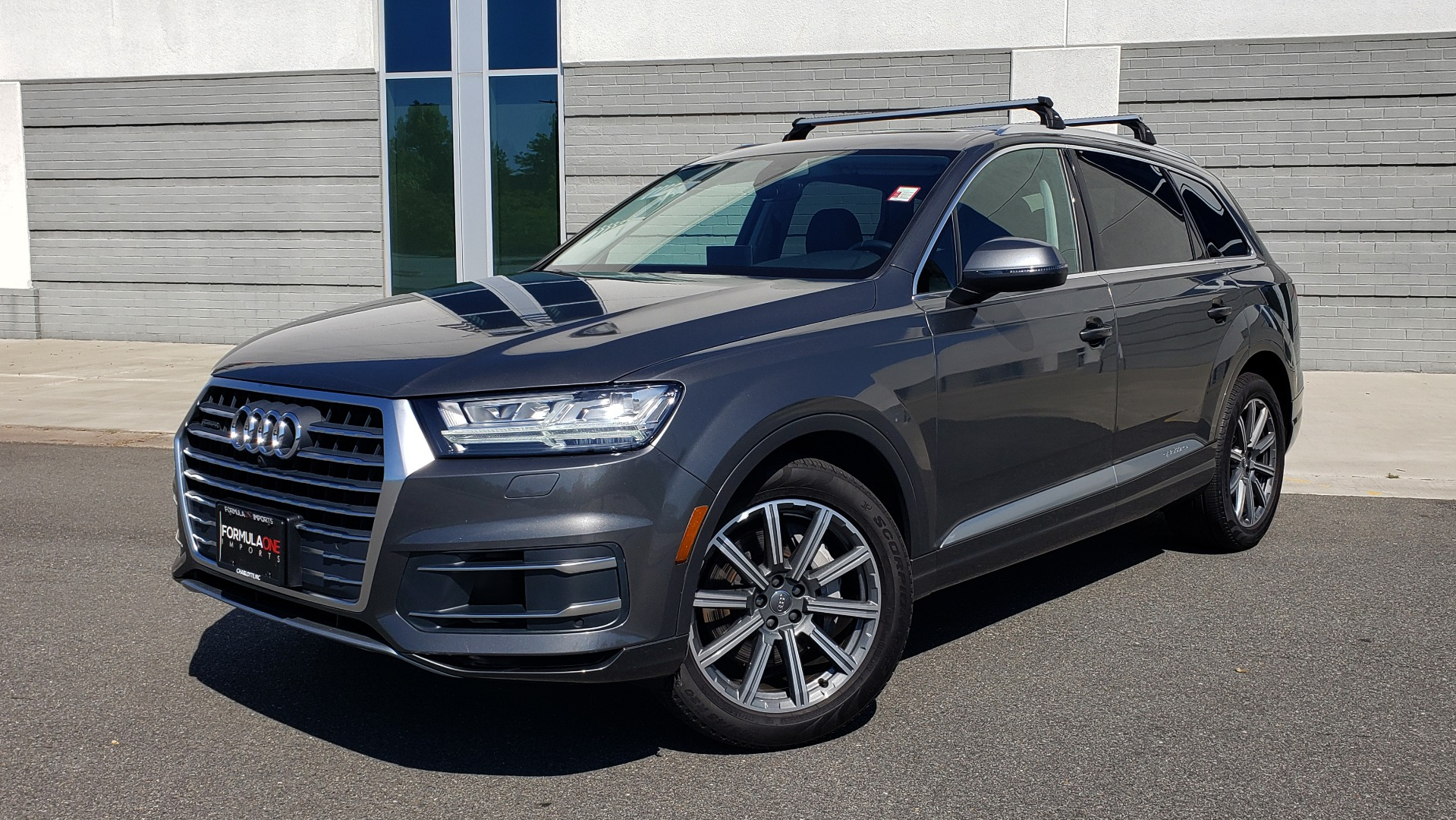Used 2018 Audi Q7 PREMIUM PLUS TIPTRONIC / NAV / SUNROOF / VISION PKG / CLD WTHR / REARVIEW for sale $44,395 at Formula Imports in Charlotte NC 28227 1