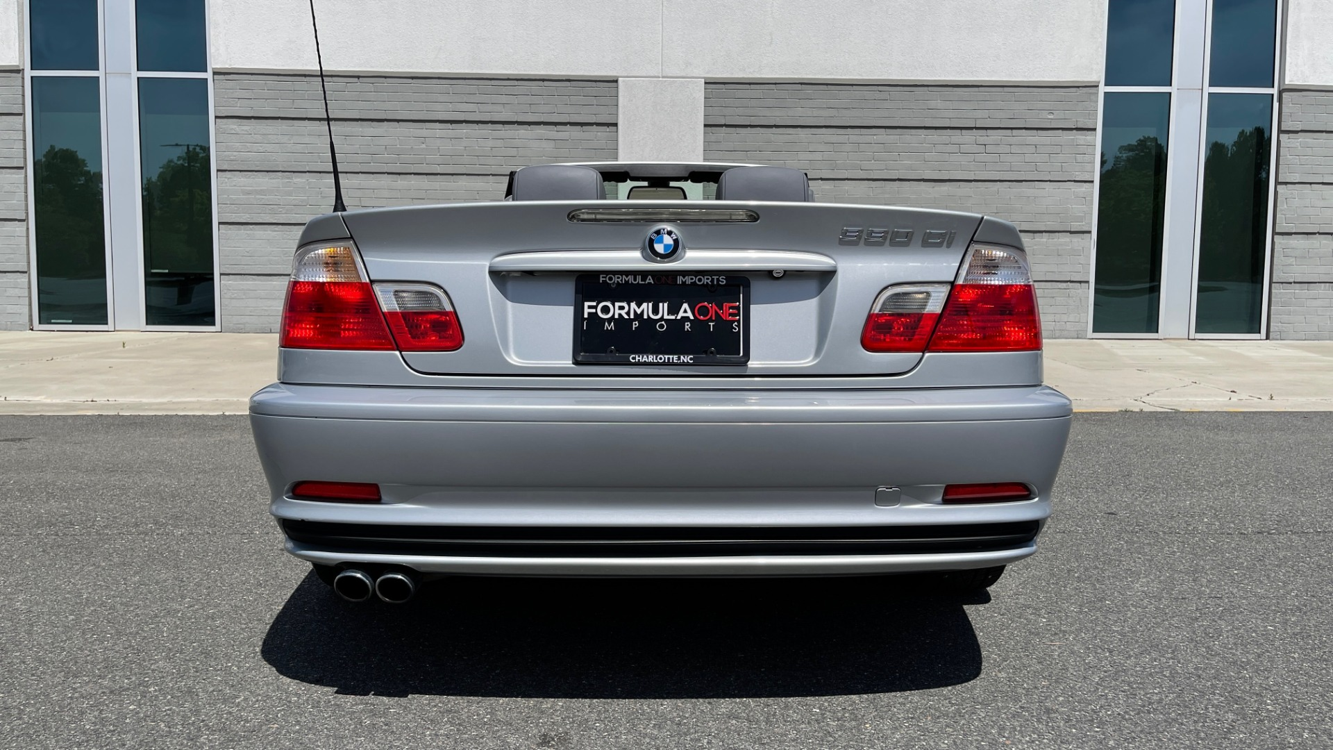 Used 2003 BMW 3 SERIES 330CI PREMIUM CONVERTIBLE / SPORT PKG / XENON HDLTS / STEPTRONIC AUTO for sale Sold at Formula Imports in Charlotte NC 28227 36