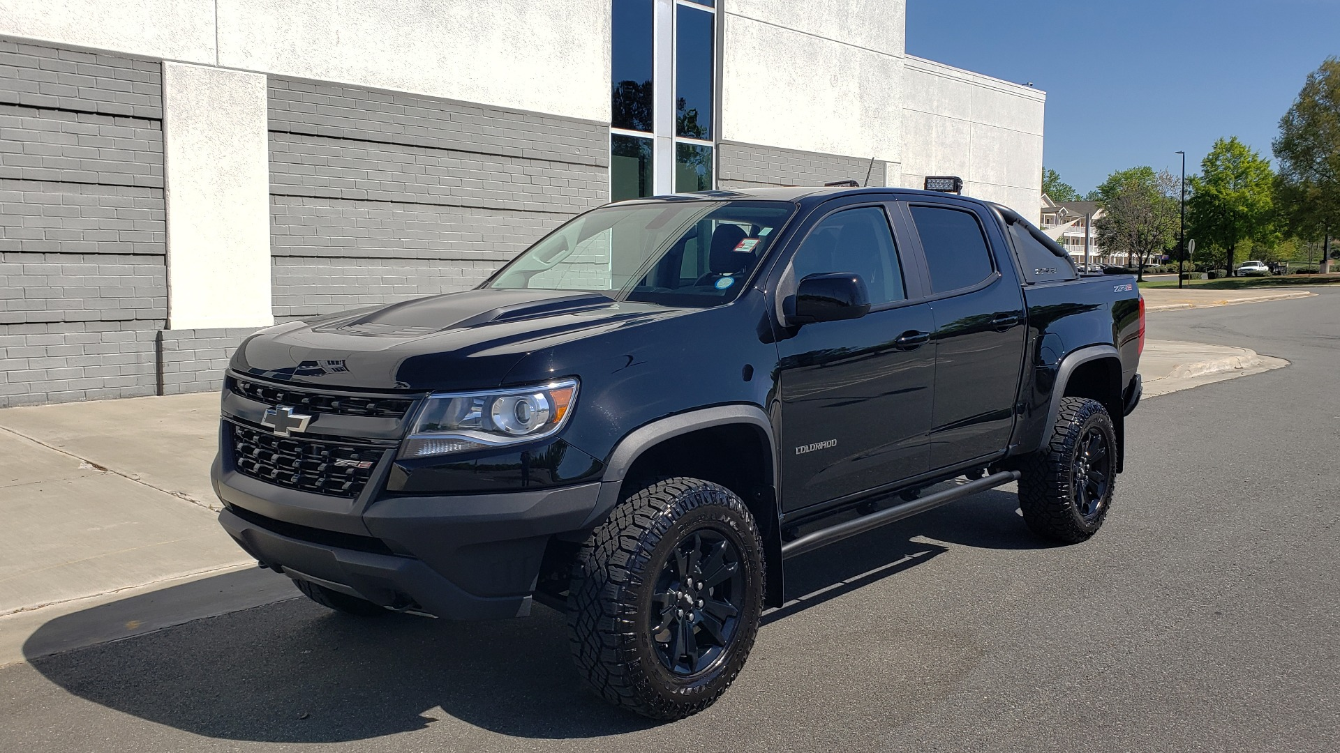 Used 2018 Chevrolet COLORADO 4WD ZR2 / CREWCAB / 128.3 WB / NAV / MIDNIGHT EDITION / BOSE for sale Sold at Formula Imports in Charlotte NC 28227 4