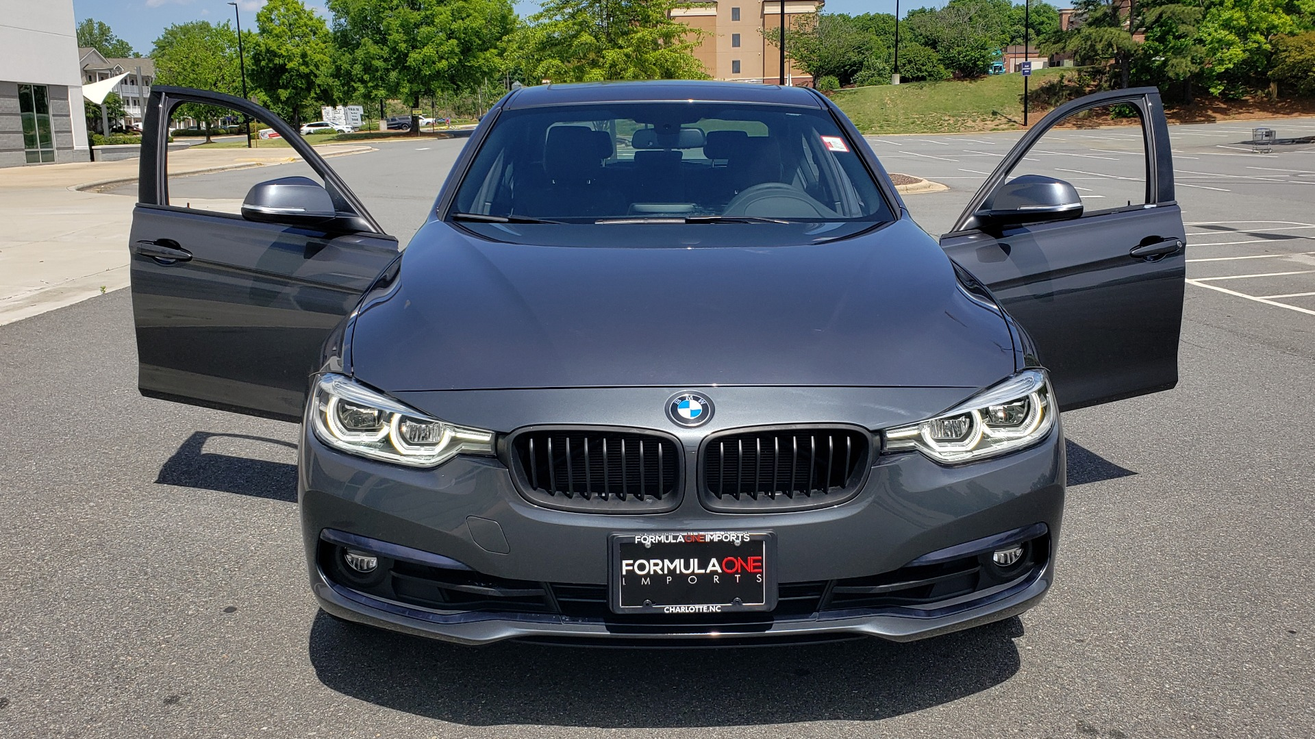 Used 2018 BMW 3 SERIES 330I XDRIVE / CONV PKG / SUNROOF / SPORT STS / HTD STS / REARVIEW for sale $28,495 at Formula Imports in Charlotte NC 28227 19