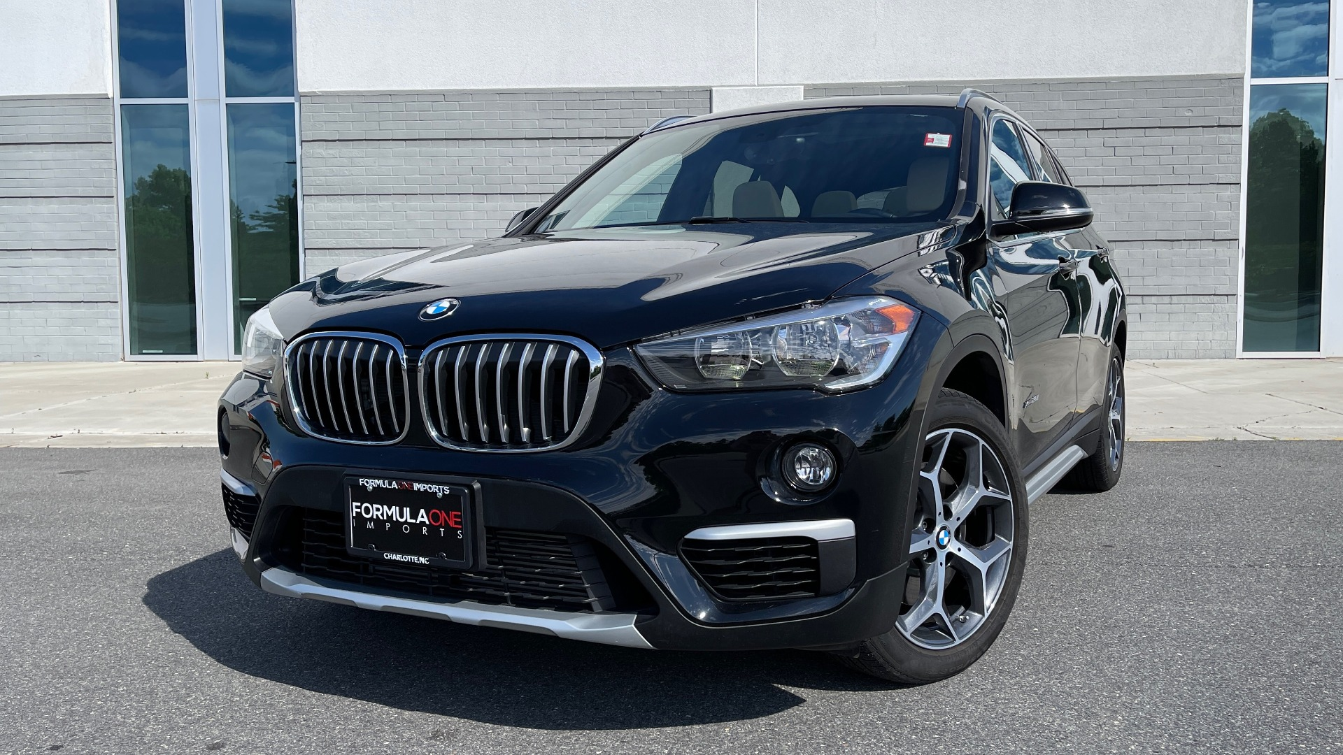 Used 2018 BMW X1 XDRIVE28I / CONV PKG / HTD SEATS / PANO-ROOF / REARVIEW for sale Sold at Formula Imports in Charlotte NC 28227 1