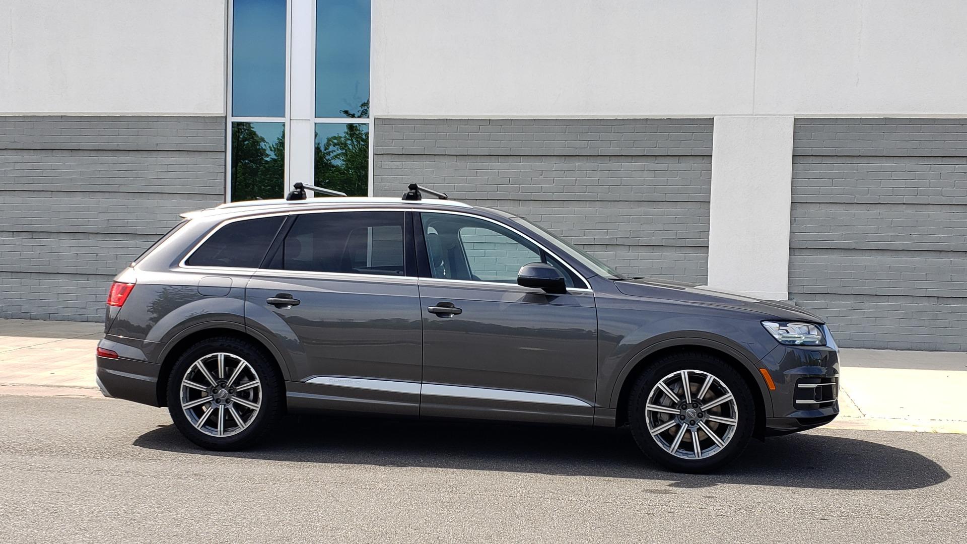 Used 2018 Audi Q7 PRESTIGE TIPTRONIC / NAV / SUNROOF / ADAPTIVE PKG / DRVR ASST / CLD WTHR /  for sale $49,995 at Formula Imports in Charlotte NC 28227 10