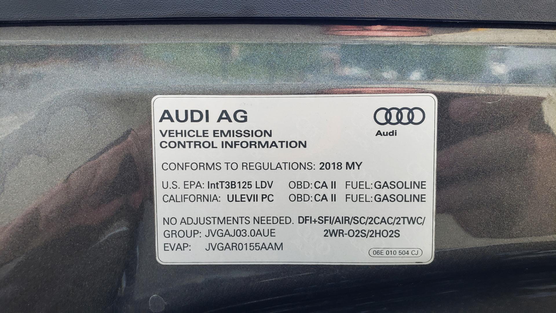 Used 2018 Audi Q7 PRESTIGE TIPTRONIC / NAV / SUNROOF / ADAPTIVE PKG / DRVR ASST / CLD WTHR /  for sale $49,995 at Formula Imports in Charlotte NC 28227 15